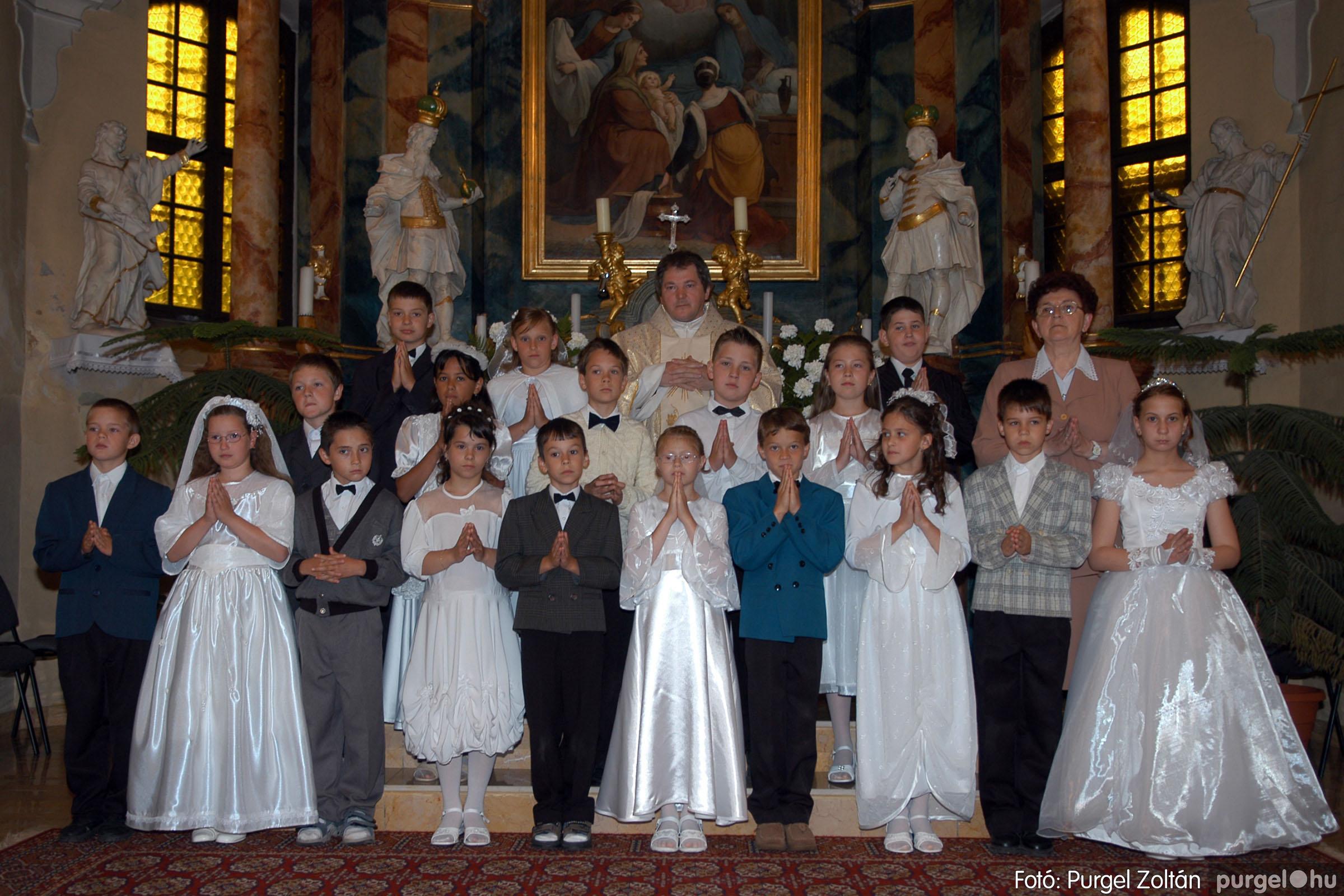 2006.05.21. 062 Kisboldogasszony templom elsőáldozás - Fotó:PURGEL ZOLTÁN© DSC_0327q.jpg