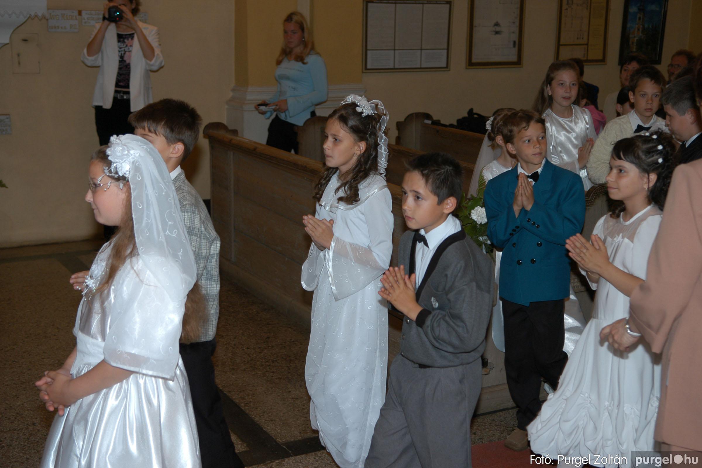 2006.05.21. 033 Kisboldogasszony templom elsőáldozás - Fotó:PURGEL ZOLTÁN© DSC_0269q.jpg