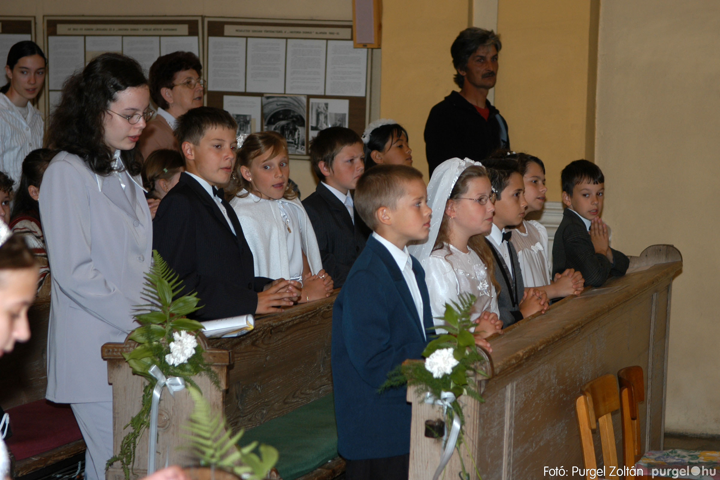 2006.05.21. 031 Kisboldogasszony templom elsőáldozás - Fotó:PURGEL ZOLTÁN© DSC_0267q.jpg