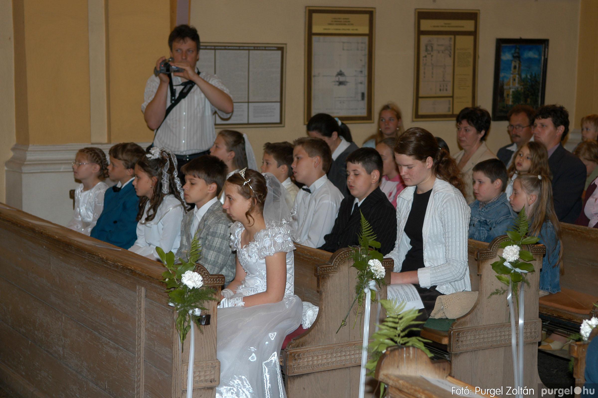 2006.05.21. 018 Kisboldogasszony templom elsőáldozás - Fotó:PURGEL ZOLTÁN© DSC_0248q.jpg