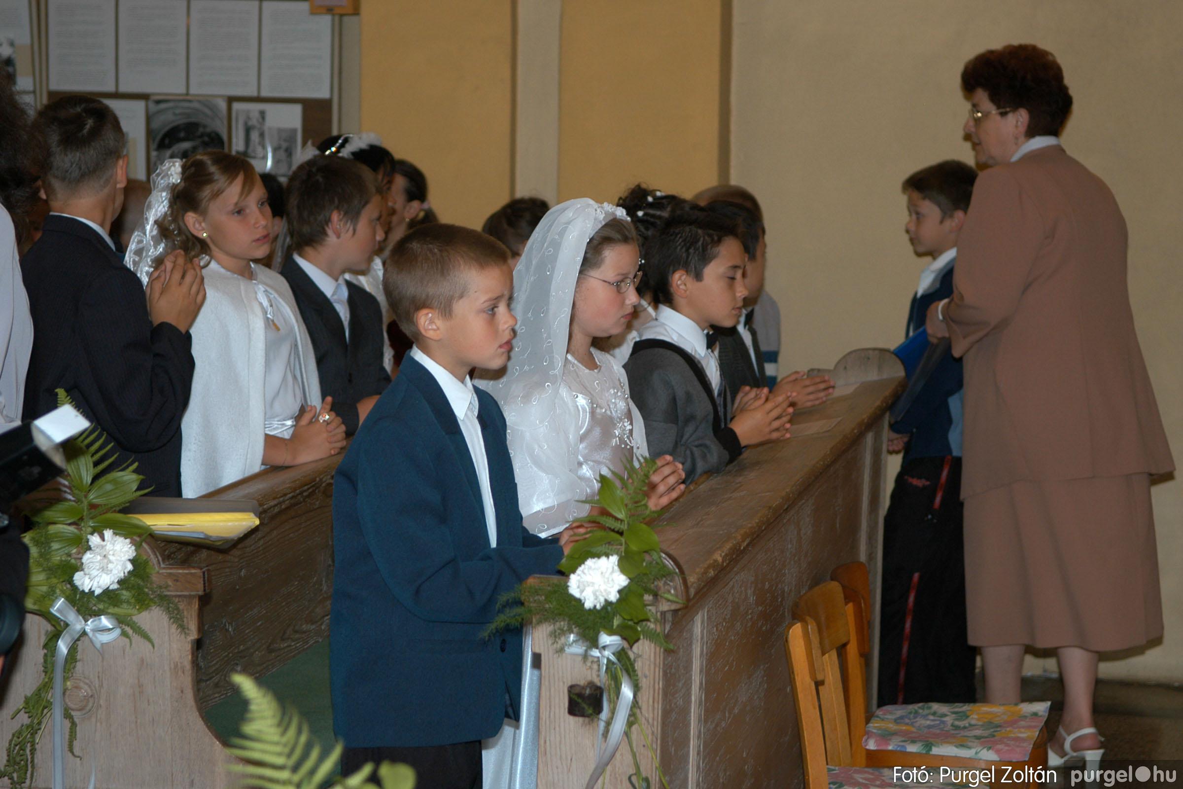 2006.05.21. 014 Kisboldogasszony templom elsőáldozás - Fotó:PURGEL ZOLTÁN© DSC_0240q.jpg