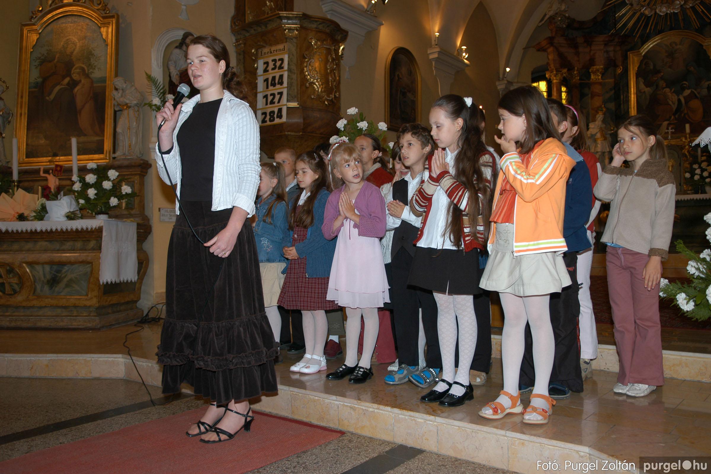 2006.05.21. 013 Kisboldogasszony templom elsőáldozás - Fotó:PURGEL ZOLTÁN© DSC_0239q.jpg