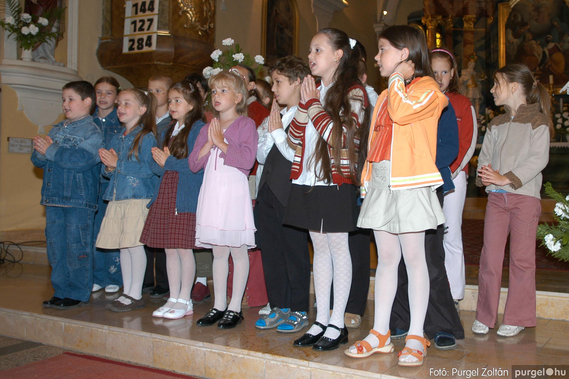 2006.05.21. 012 Kisboldogasszony templom elsőáldozás - Fotó:PURGEL ZOLTÁN© DSC_0238q.jpg
