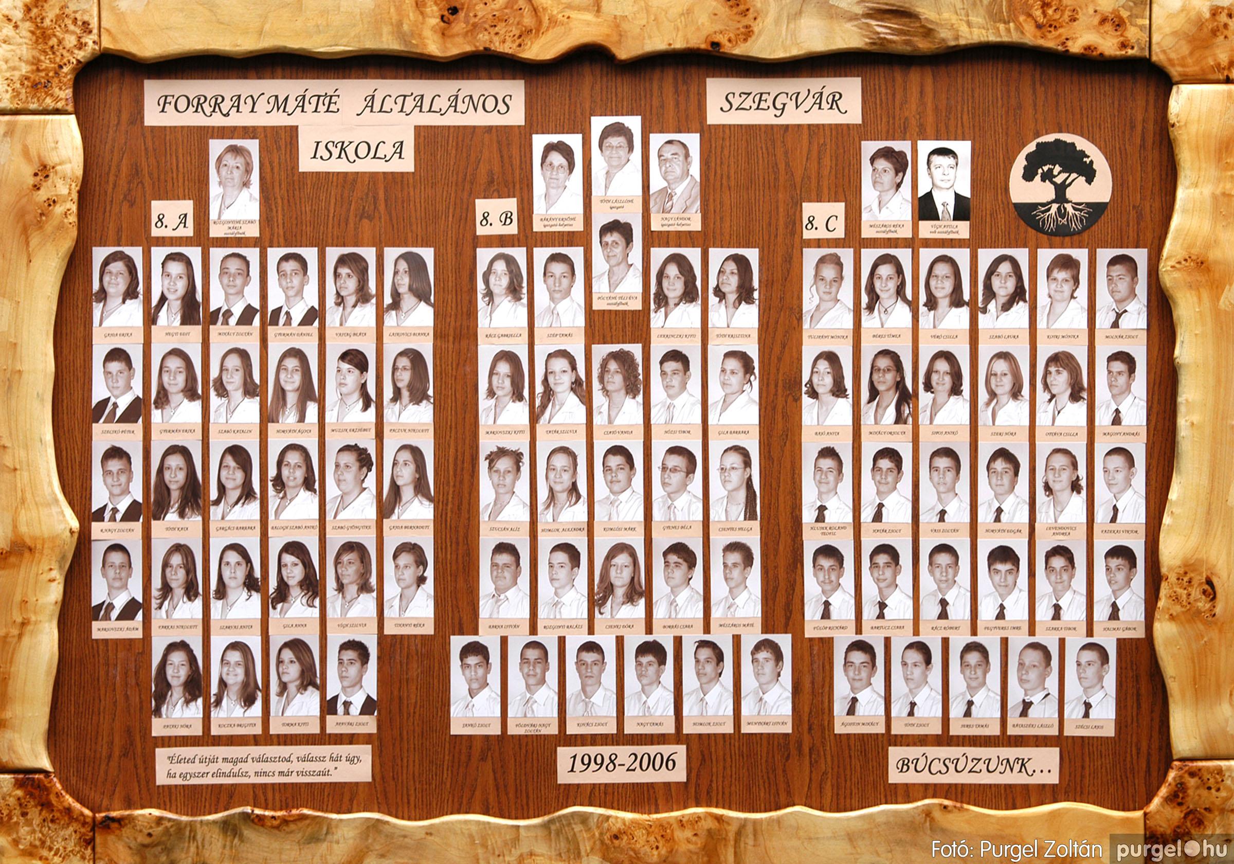 2006.06.14. 000 Forray Máté Általános Iskola tabló 2006. - Fotó:PURGEL ZOLTÁN©.jpg