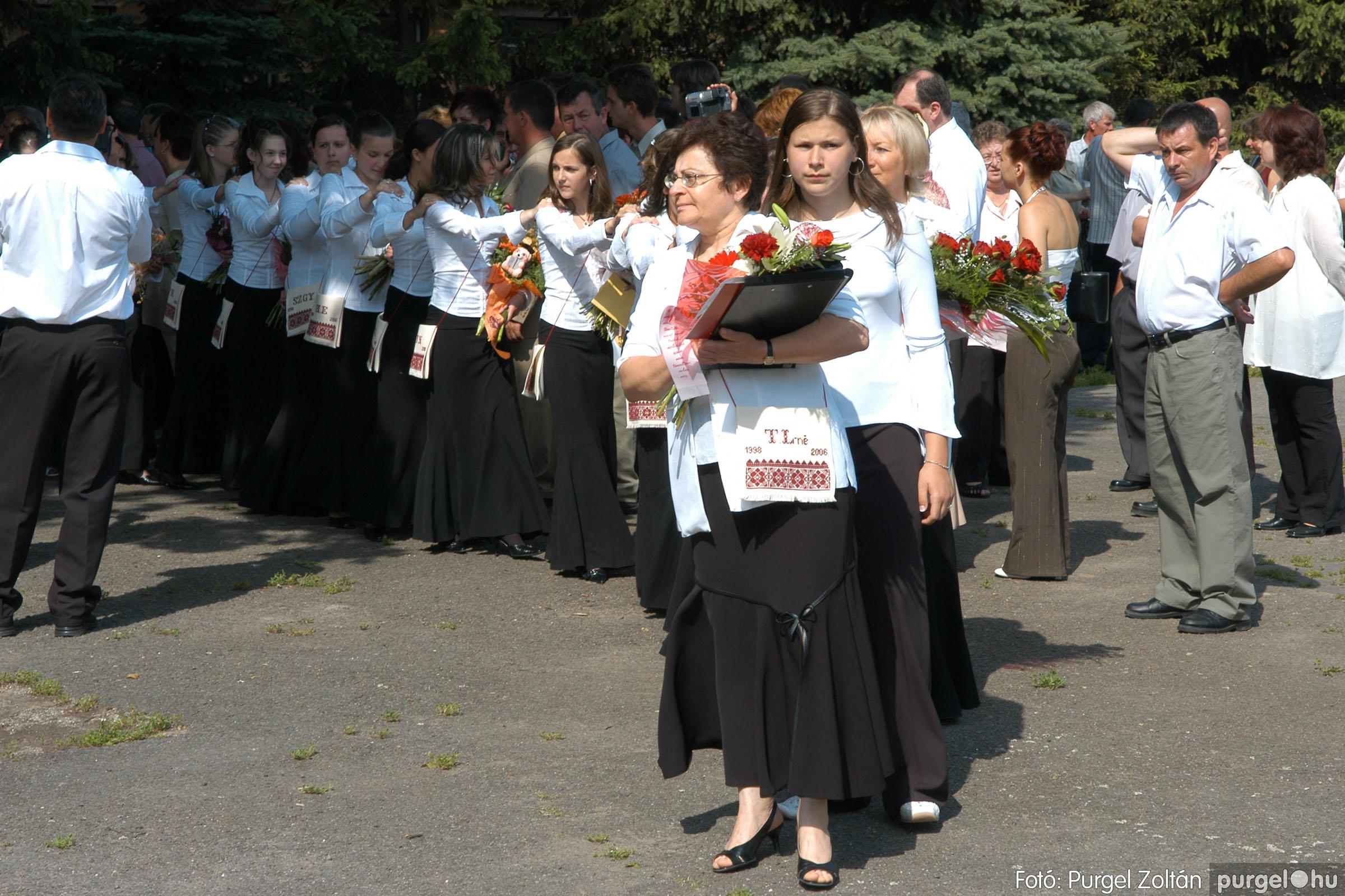 2006.06.17. 032 Forray Máté Általános Iskola ballagás 2006. - Fotó:PURGEL ZOLTÁN© DSC_0049q.jpg