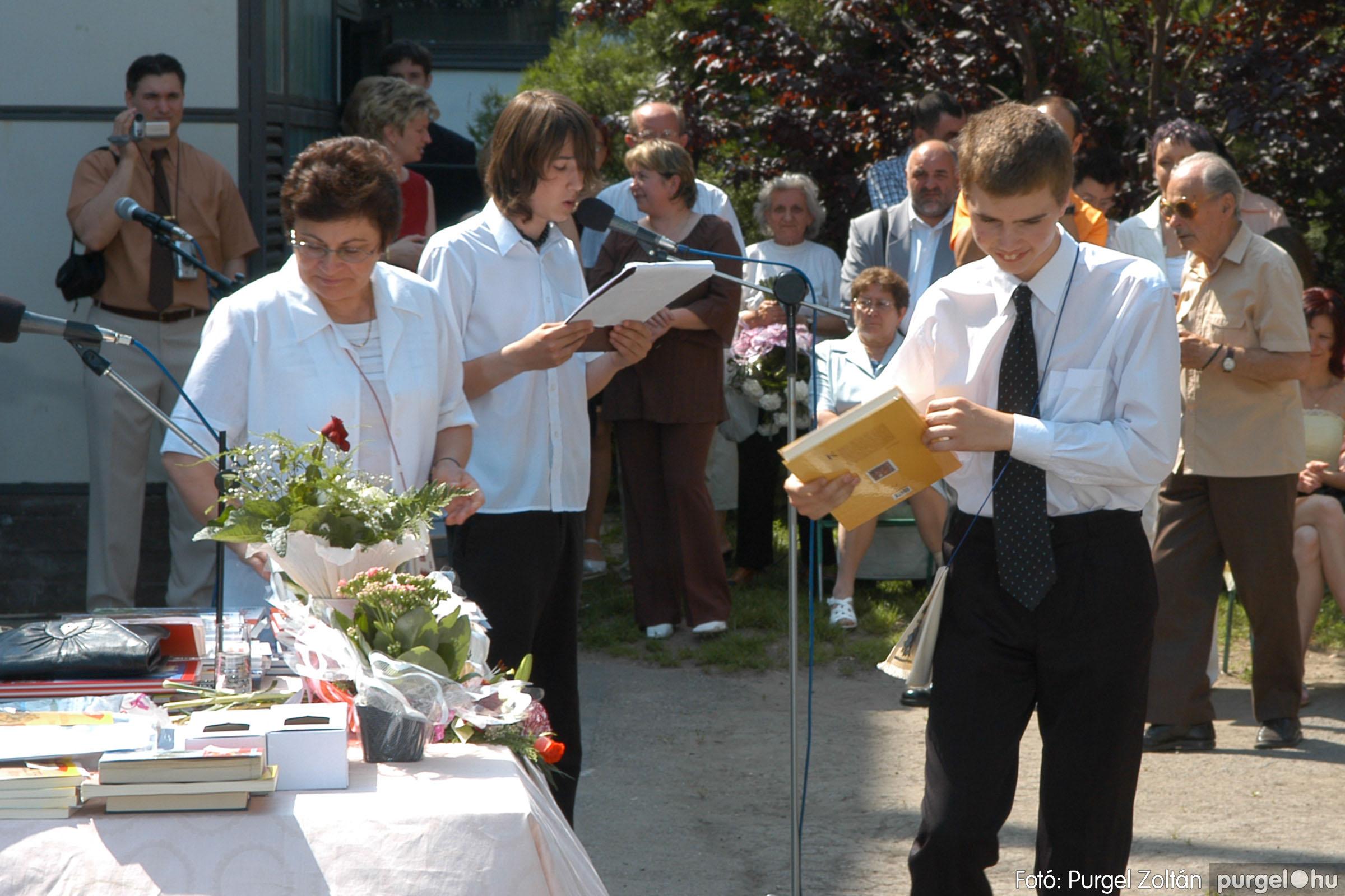 2006.06.17. 099 Forray Máté Általános Iskola ballagás 2006. - Fotó:PURGEL ZOLTÁN© DSC_0128q.jpg