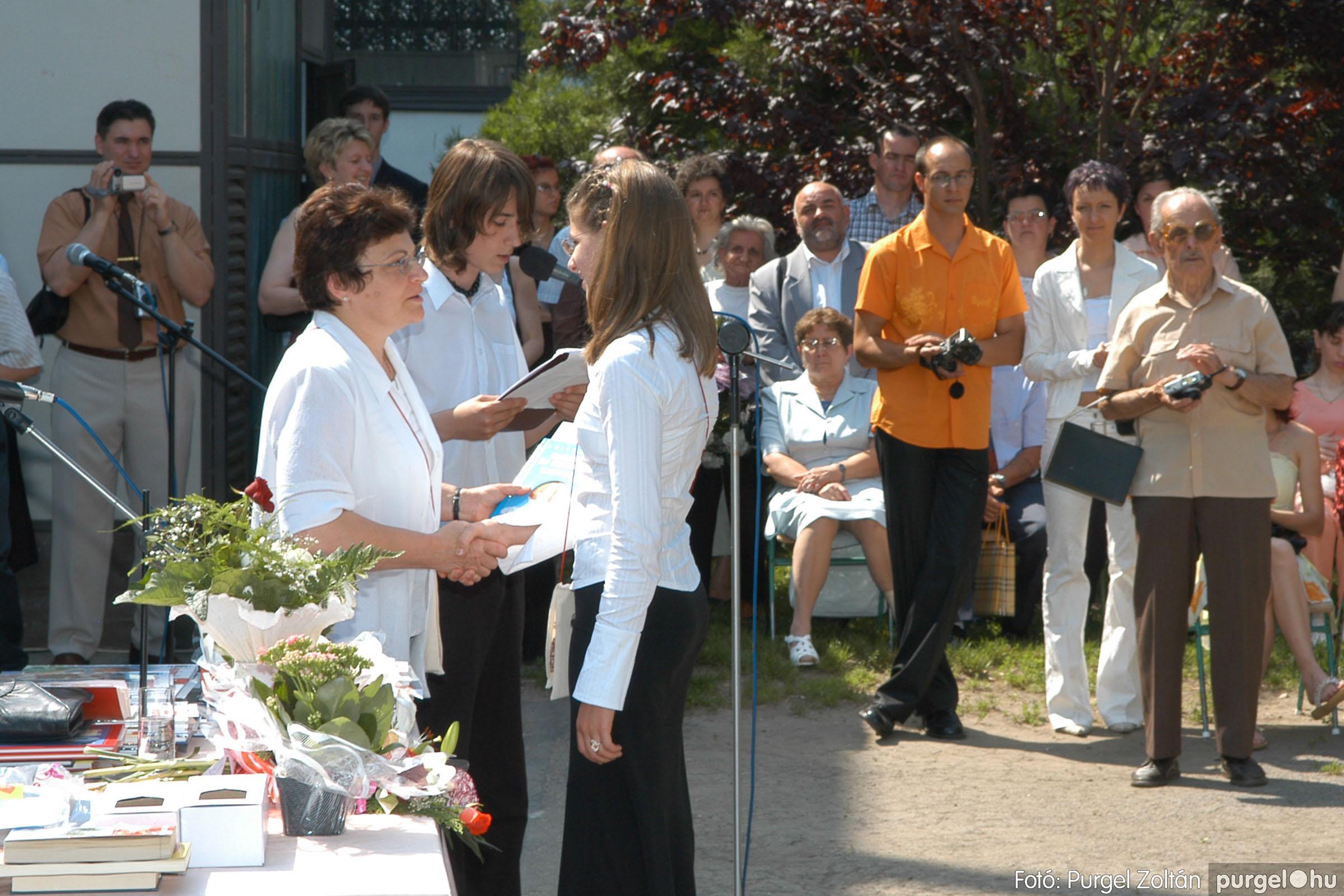 2006.06.17. 095 Forray Máté Általános Iskola ballagás 2006. - Fotó:PURGEL ZOLTÁN© DSC_0124q.jpg