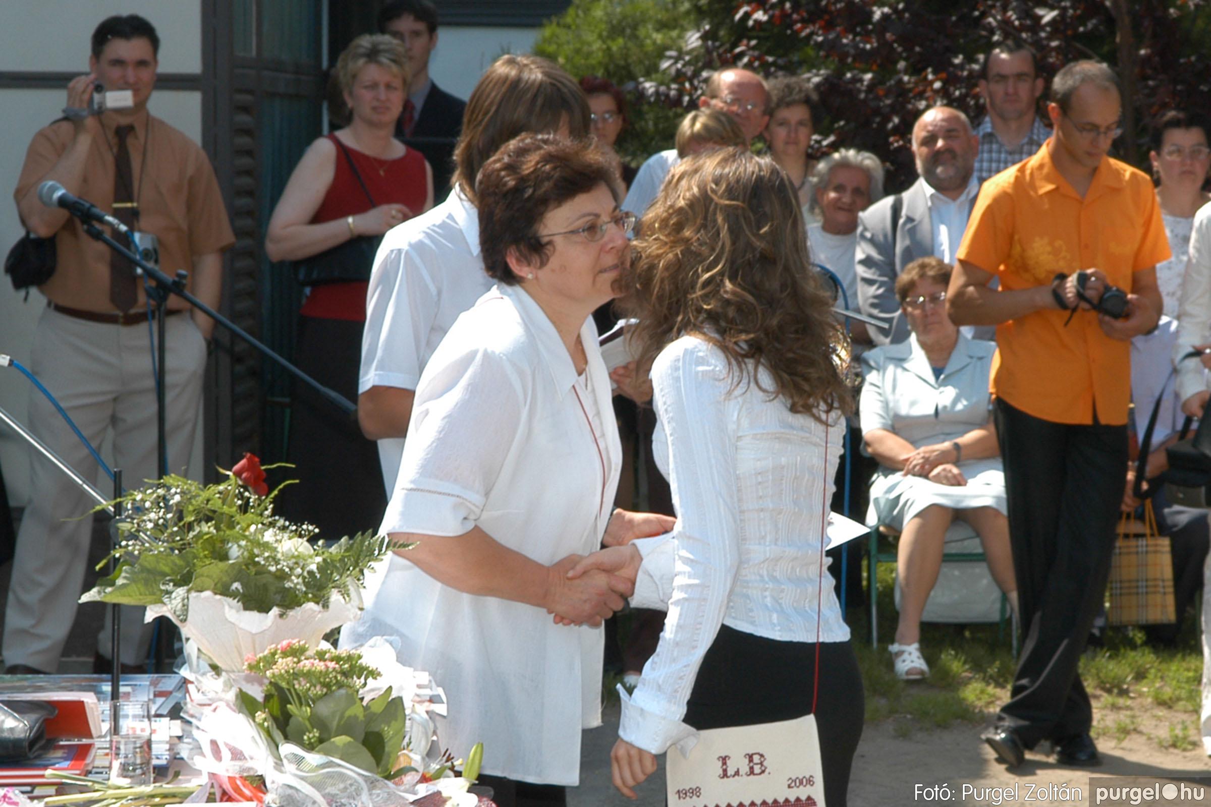 2006.06.17. 094 Forray Máté Általános Iskola ballagás 2006. - Fotó:PURGEL ZOLTÁN© DSC_0123q.jpg