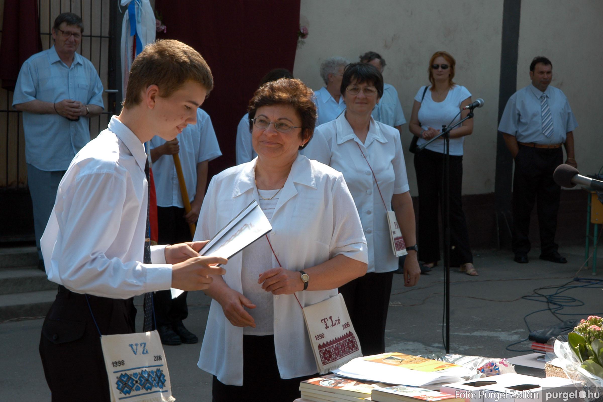 2006.06.17. 093 Forray Máté Általános Iskola ballagás 2006. - Fotó:PURGEL ZOLTÁN© DSC_0122q.jpg