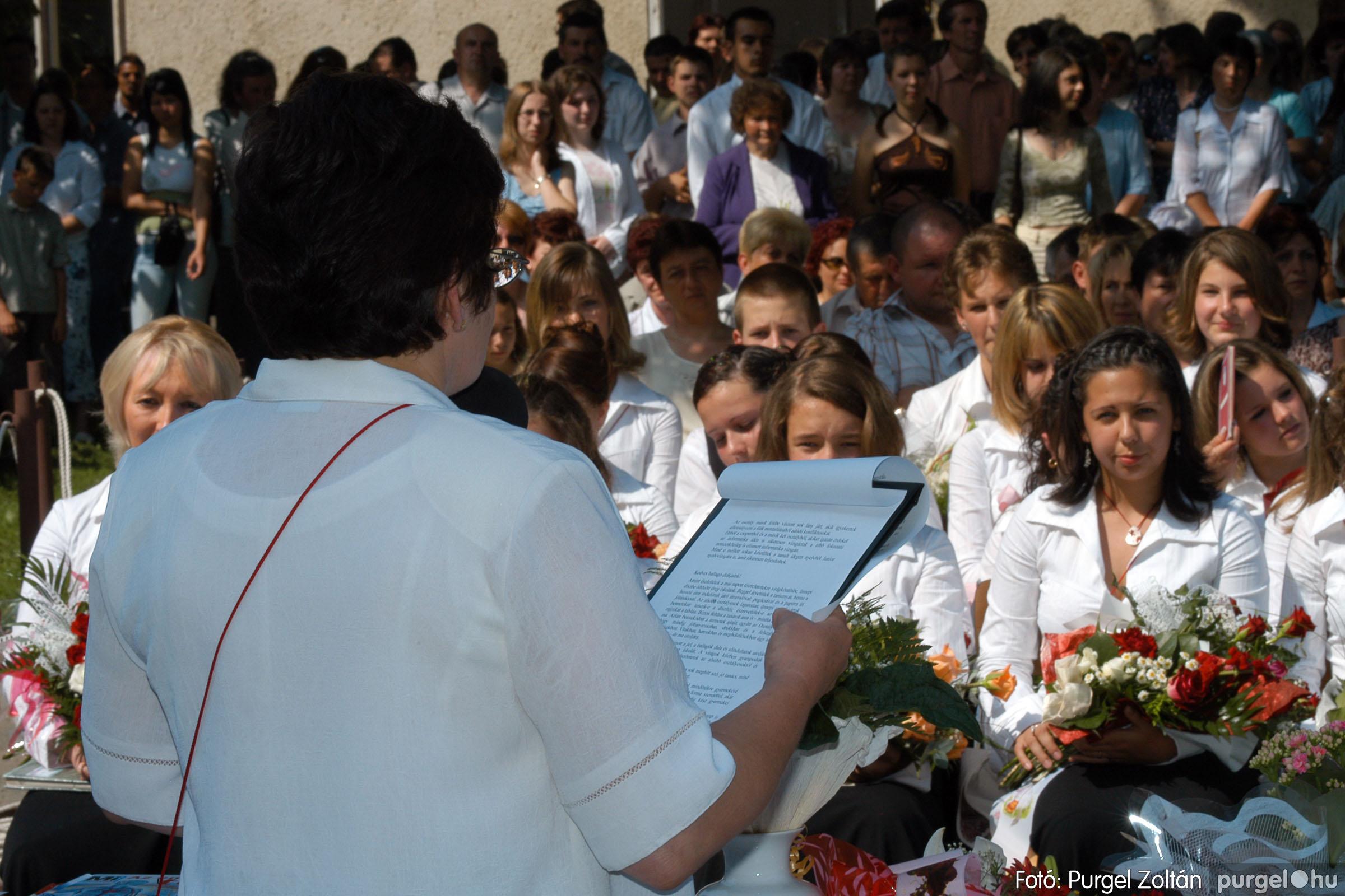 2006.06.17. 082 Forray Máté Általános Iskola ballagás 2006. - Fotó:PURGEL ZOLTÁN© DSC_0106q.jpg