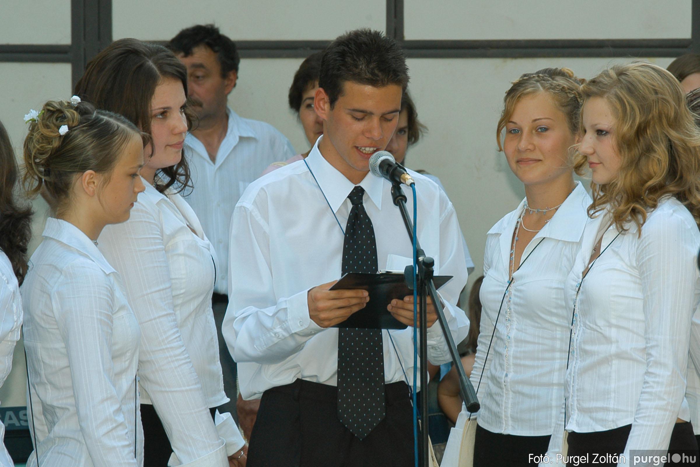 2006.06.17. 071 Forray Máté Általános Iskola ballagás 2006. - Fotó:PURGEL ZOLTÁN© DSC_0092q.jpg