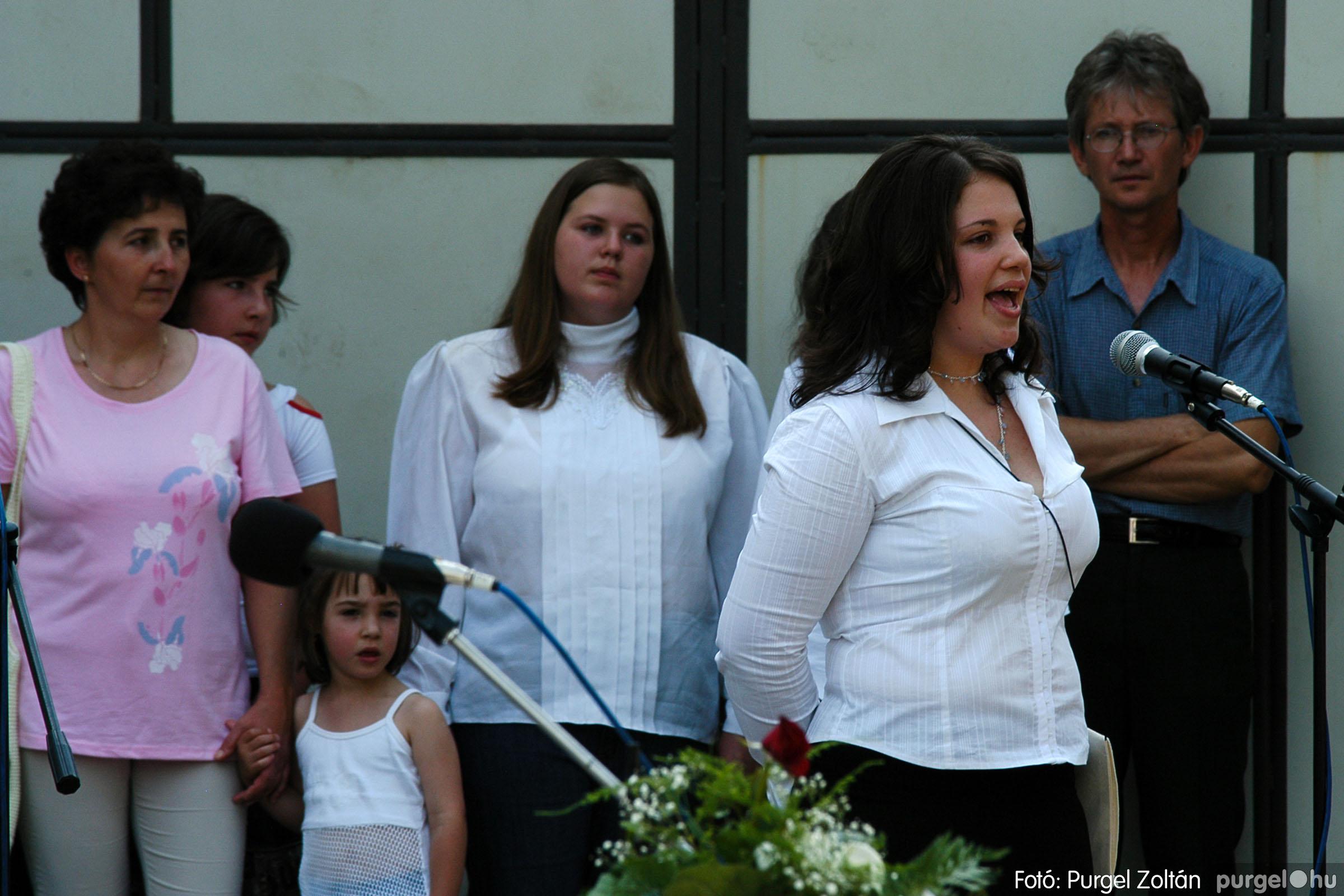 2006.06.17. 064 Forray Máté Általános Iskola ballagás 2006. - Fotó:PURGEL ZOLTÁN© DSC_0085q.jpg