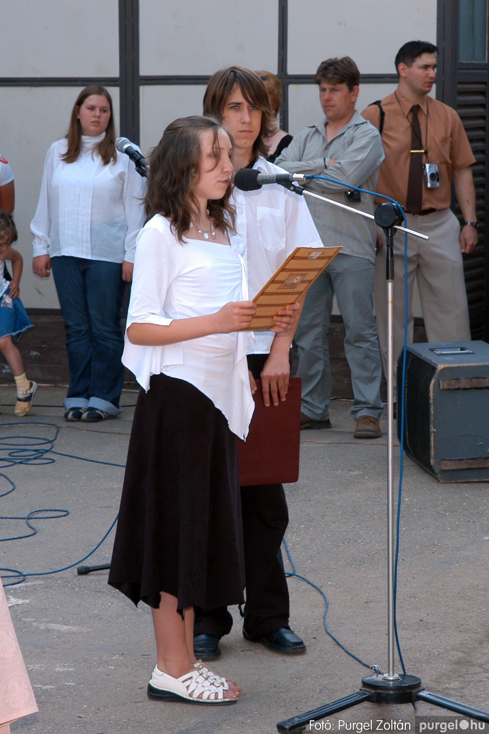 2006.06.17. 052 Forray Máté Általános Iskola ballagás 2006. - Fotó:PURGEL ZOLTÁN© DSC_0071q.jpg