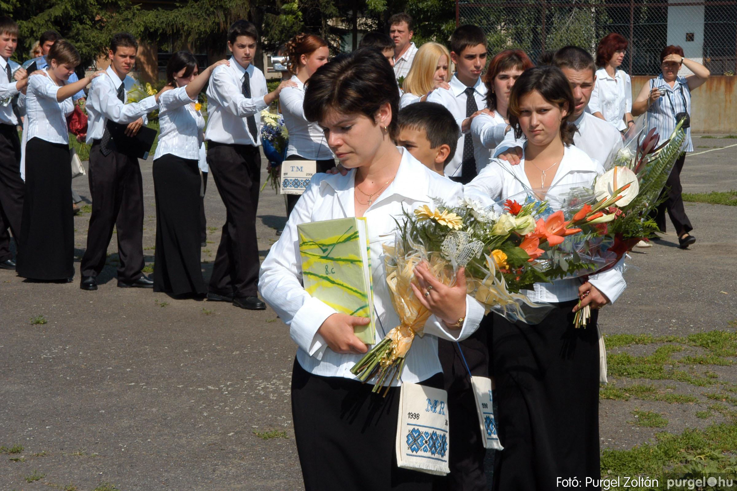 2006.06.17. 045 Forray Máté Általános Iskola ballagás 2006. - Fotó:PURGEL ZOLTÁN© DSC_0064q.jpg