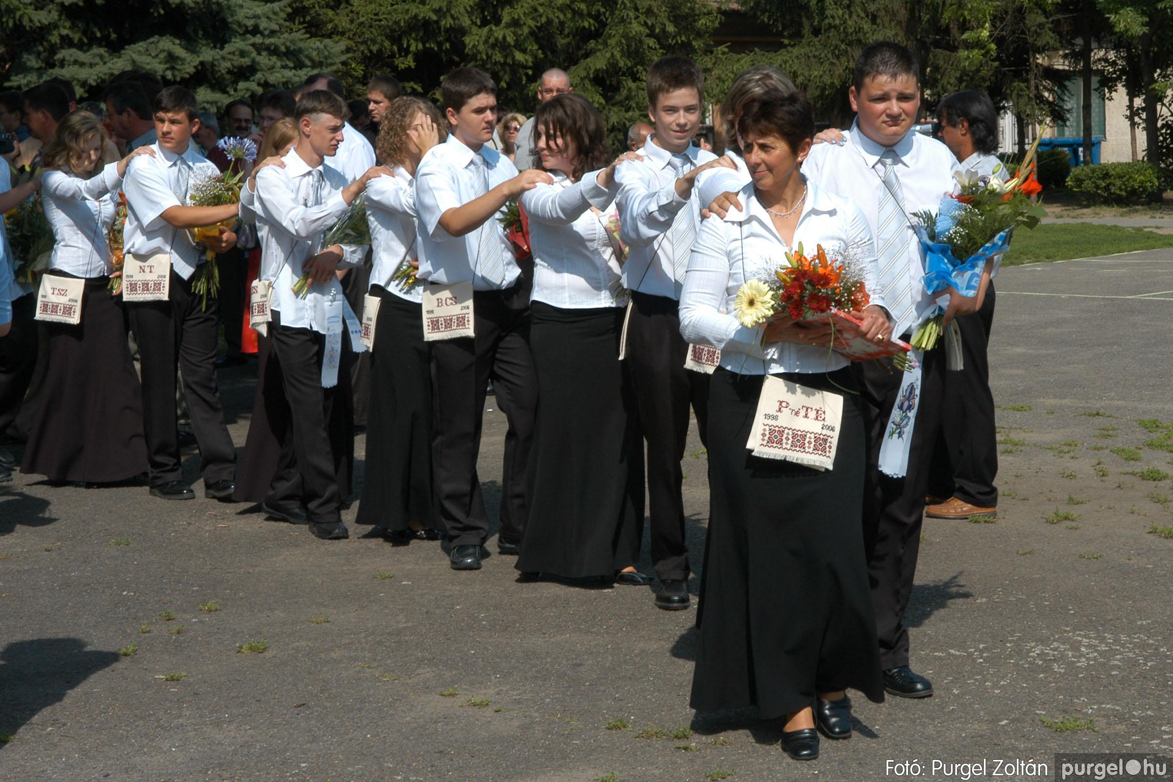 2006.06.17. 039 Forray Máté Általános Iskola ballagás 2006. - Fotó:PURGEL ZOLTÁN© DSC_0057q.jpg