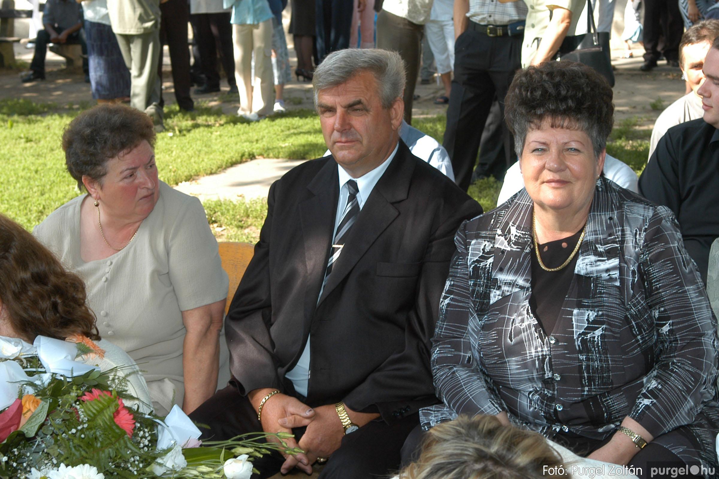 2006.06.17. 009 Forray Máté Általános Iskola ballagás 2006. - Fotó:PURGEL ZOLTÁN© DSC_0013q.jpg