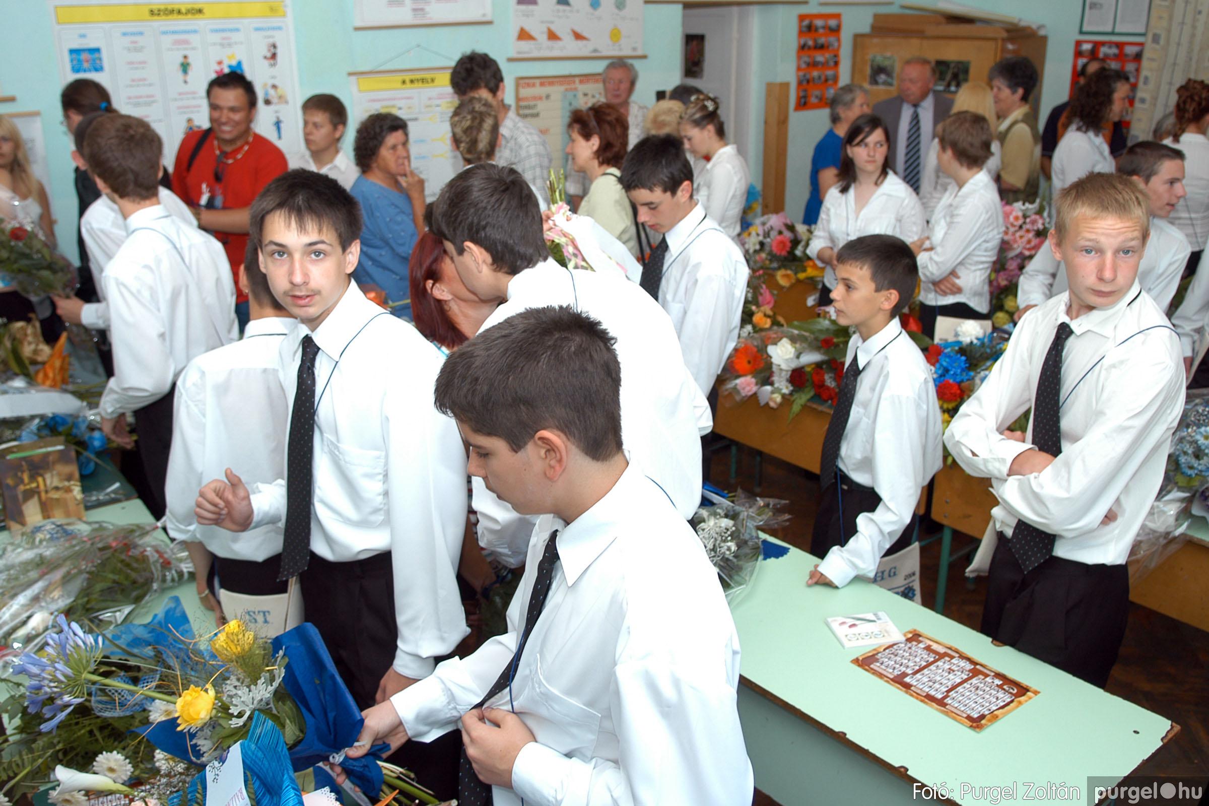 2006.06.17. 008 Forray Máté Általános Iskola ballagás 2006. - Fotó:PURGEL ZOLTÁN© DSC_0012q.jpg