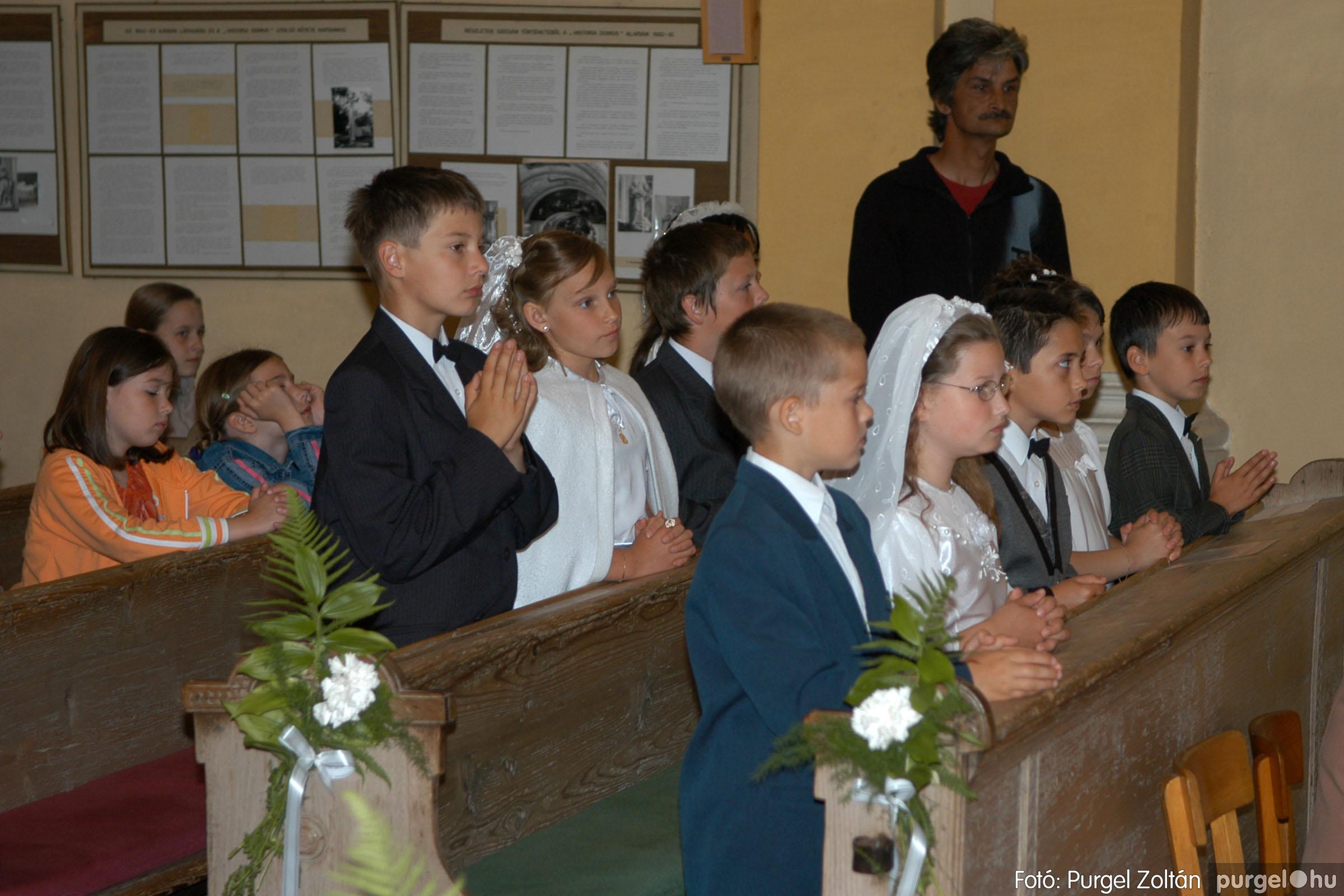2006.05.21. 027 Kisboldogasszony templom elsőáldozás - Fotó:PURGEL ZOLTÁN© DSC_0262q.jpg