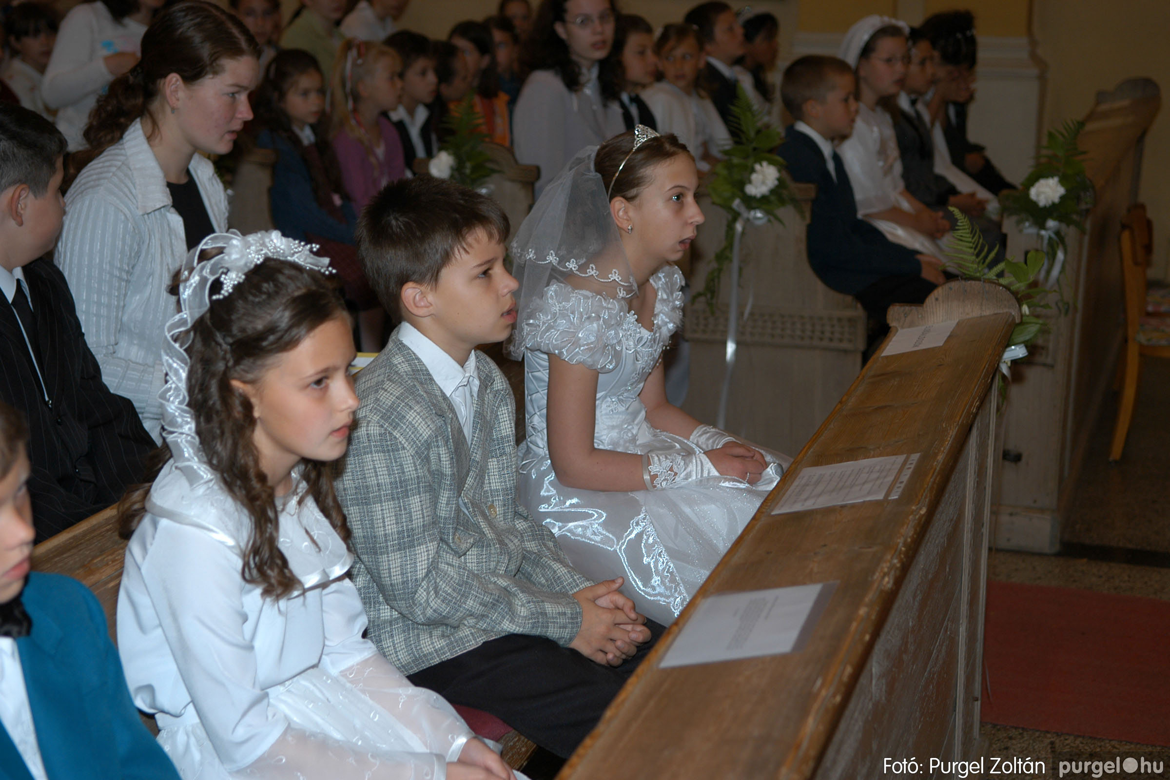 2006.05.21. 015 Kisboldogasszony templom elsőáldozás - Fotó:PURGEL ZOLTÁN© DSC_0243q.jpg