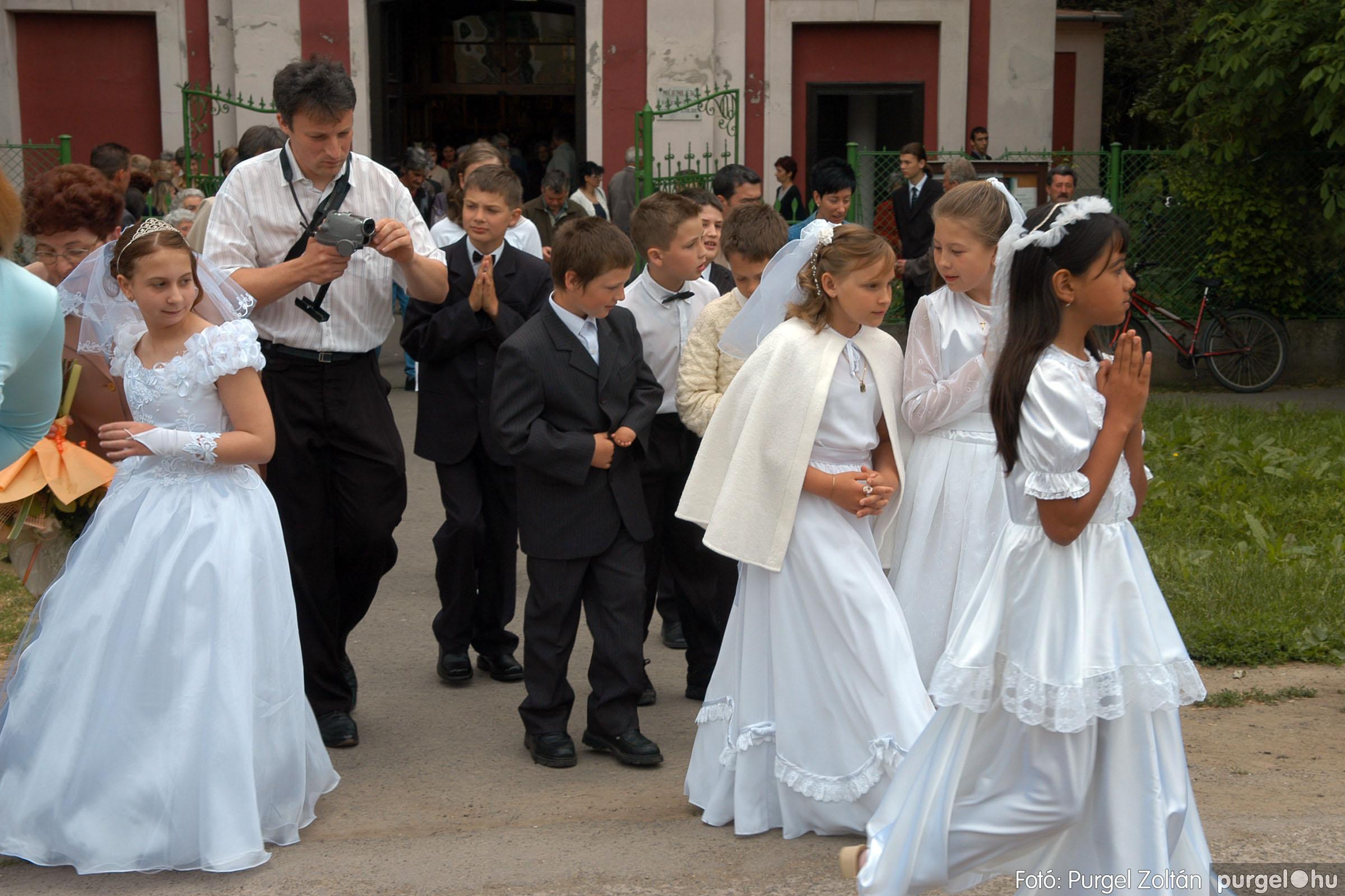2006.05.21. 072 Kisboldogasszony templom elsőáldozás - Fotó:PURGEL ZOLTÁN© DSC_0341q.jpg