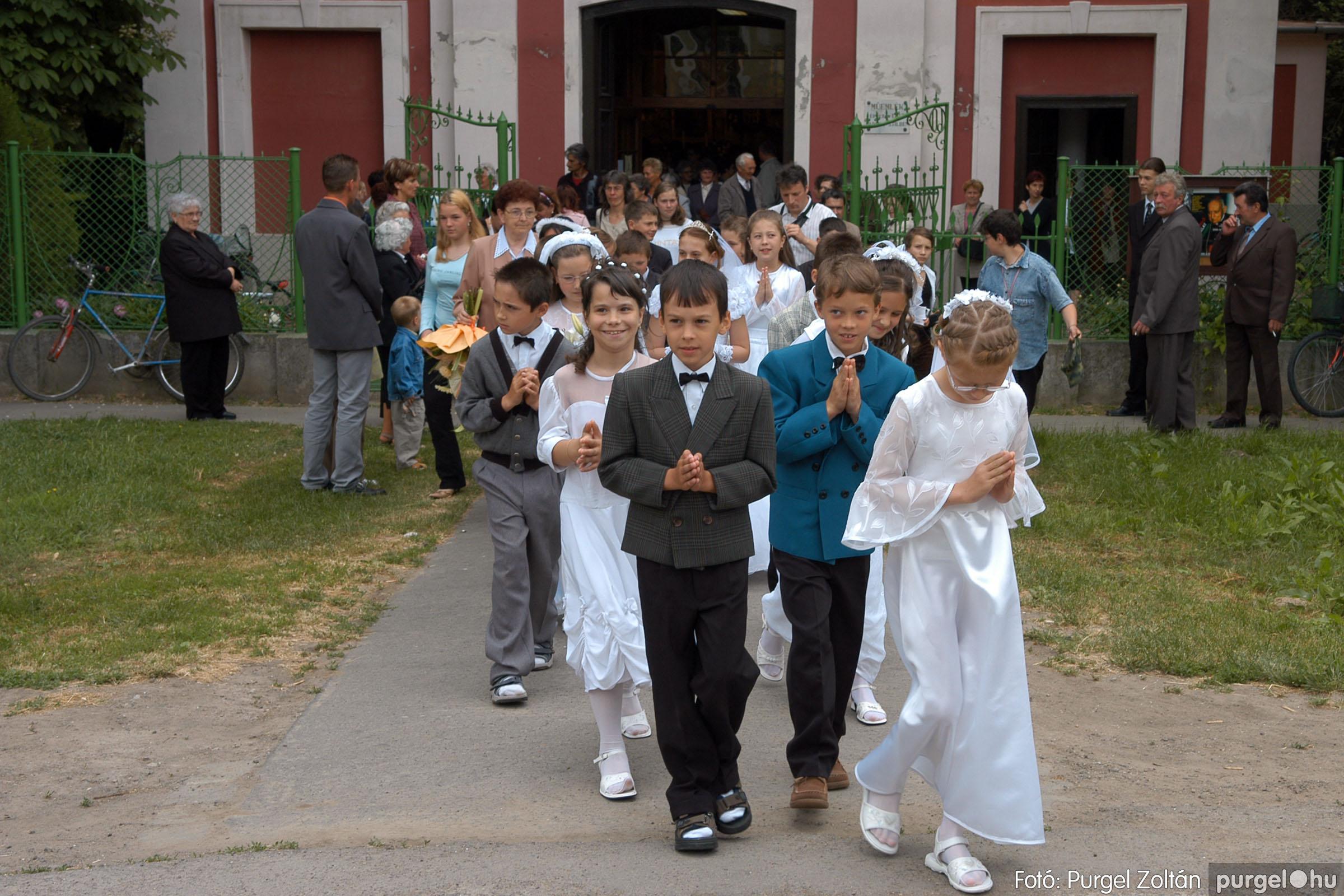 2006.05.21. 069 Kisboldogasszony templom elsőáldozás - Fotó:PURGEL ZOLTÁN© DSC_0338q.jpg