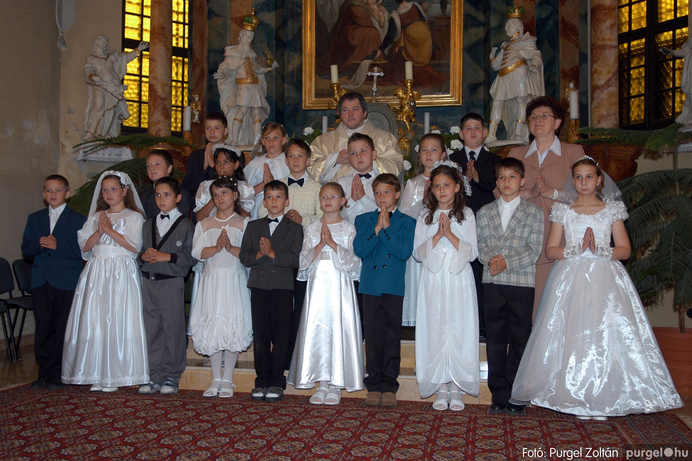 2006.05.21. 061 Kisboldogasszony templom elsőáldozás - Fotó:PURGEL ZOLTÁN© DSC_0325q.jpg