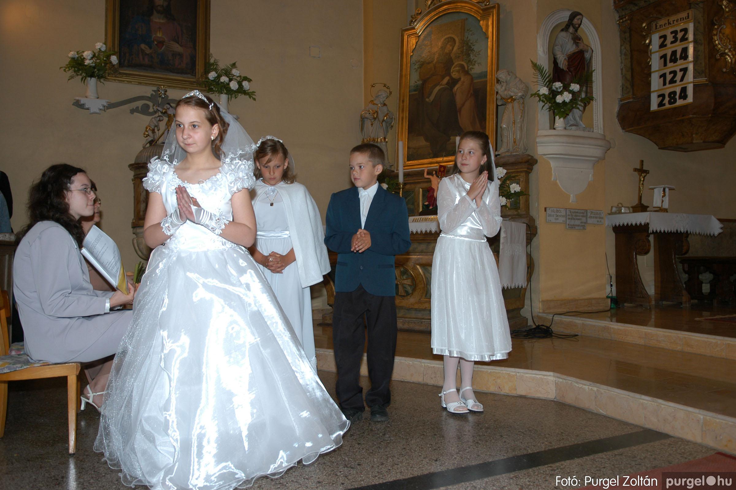 2006.05.21. 056 Kisboldogasszony templom elsőáldozás - Fotó:PURGEL ZOLTÁN© DSC_0314q.jpg