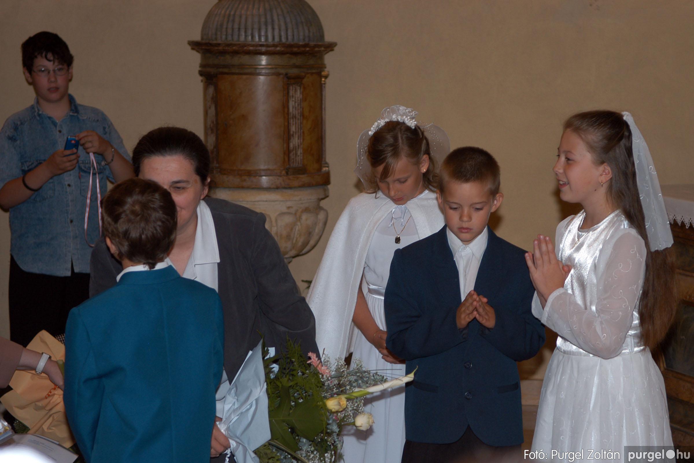2006.05.21. 054 Kisboldogasszony templom elsőáldozás - Fotó:PURGEL ZOLTÁN© DSC_0312q.jpg