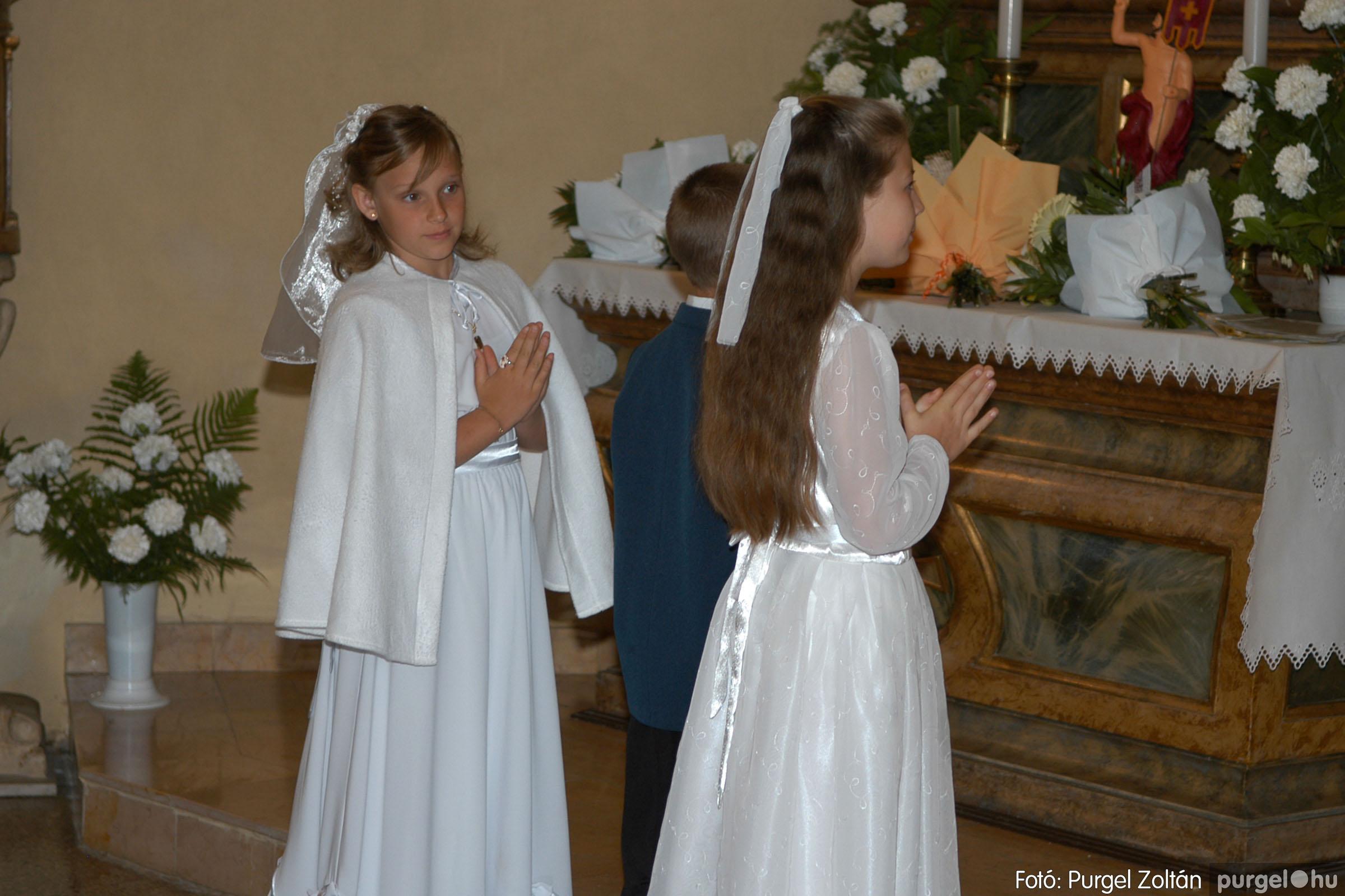 2006.05.21. 042 Kisboldogasszony templom elsőáldozás - Fotó:PURGEL ZOLTÁN© DSC_0293q.jpg