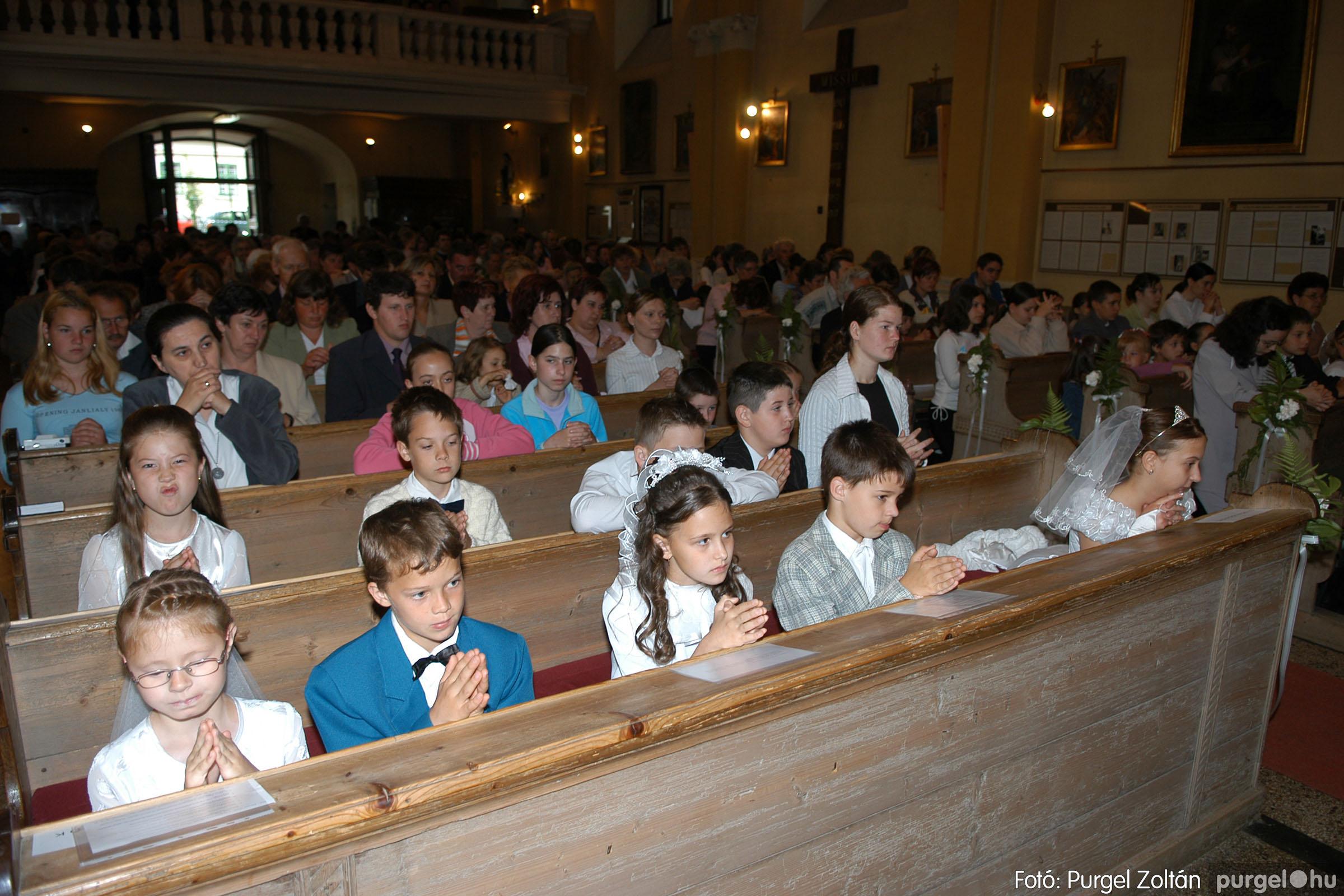 2006.05.21. 030 Kisboldogasszony templom elsőáldozás - Fotó:PURGEL ZOLTÁN© DSC_0265q.jpg