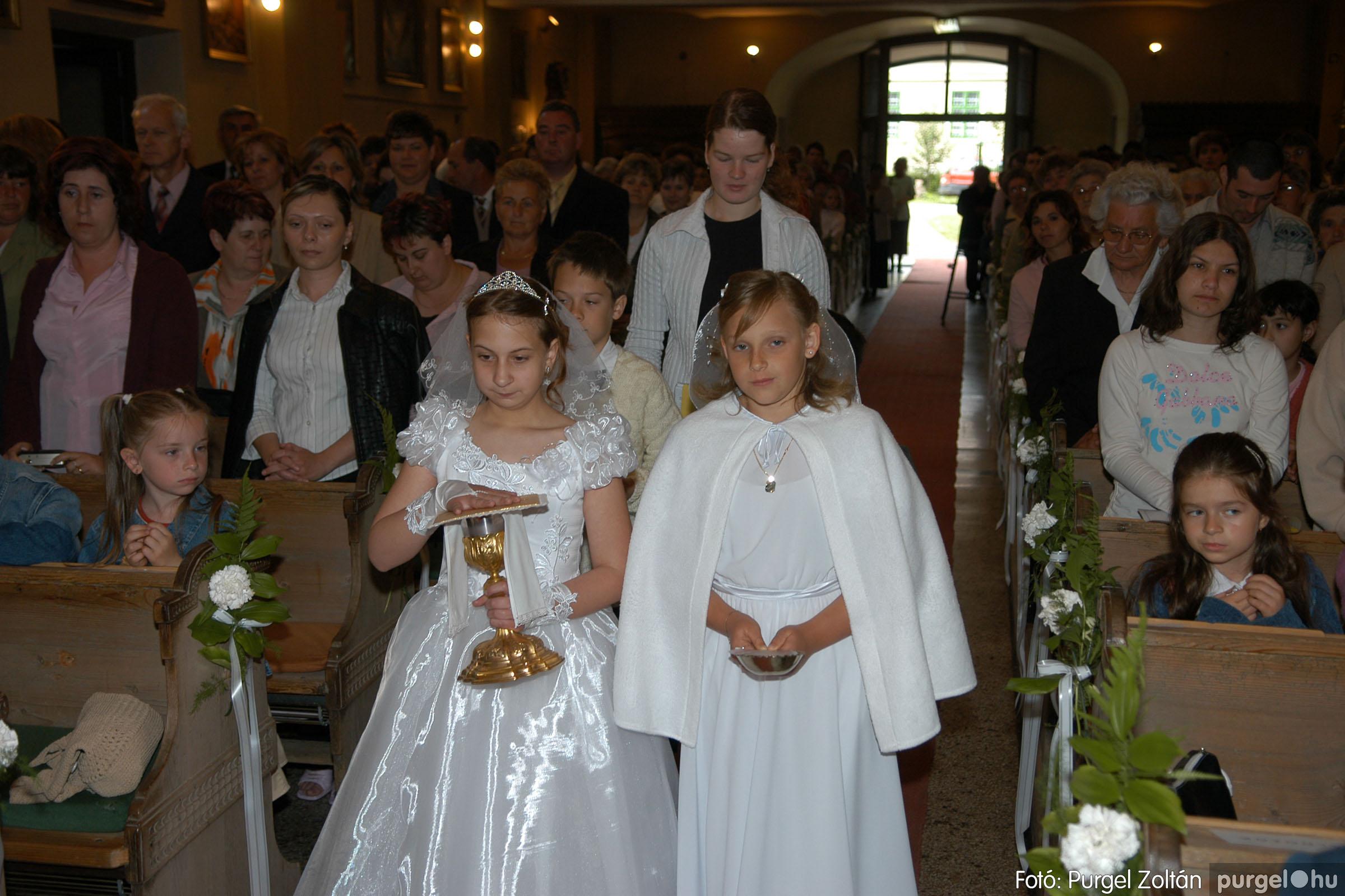 2006.05.21. 024 Kisboldogasszony templom elsőáldozás - Fotó:PURGEL ZOLTÁN© DSC_0255q.jpg