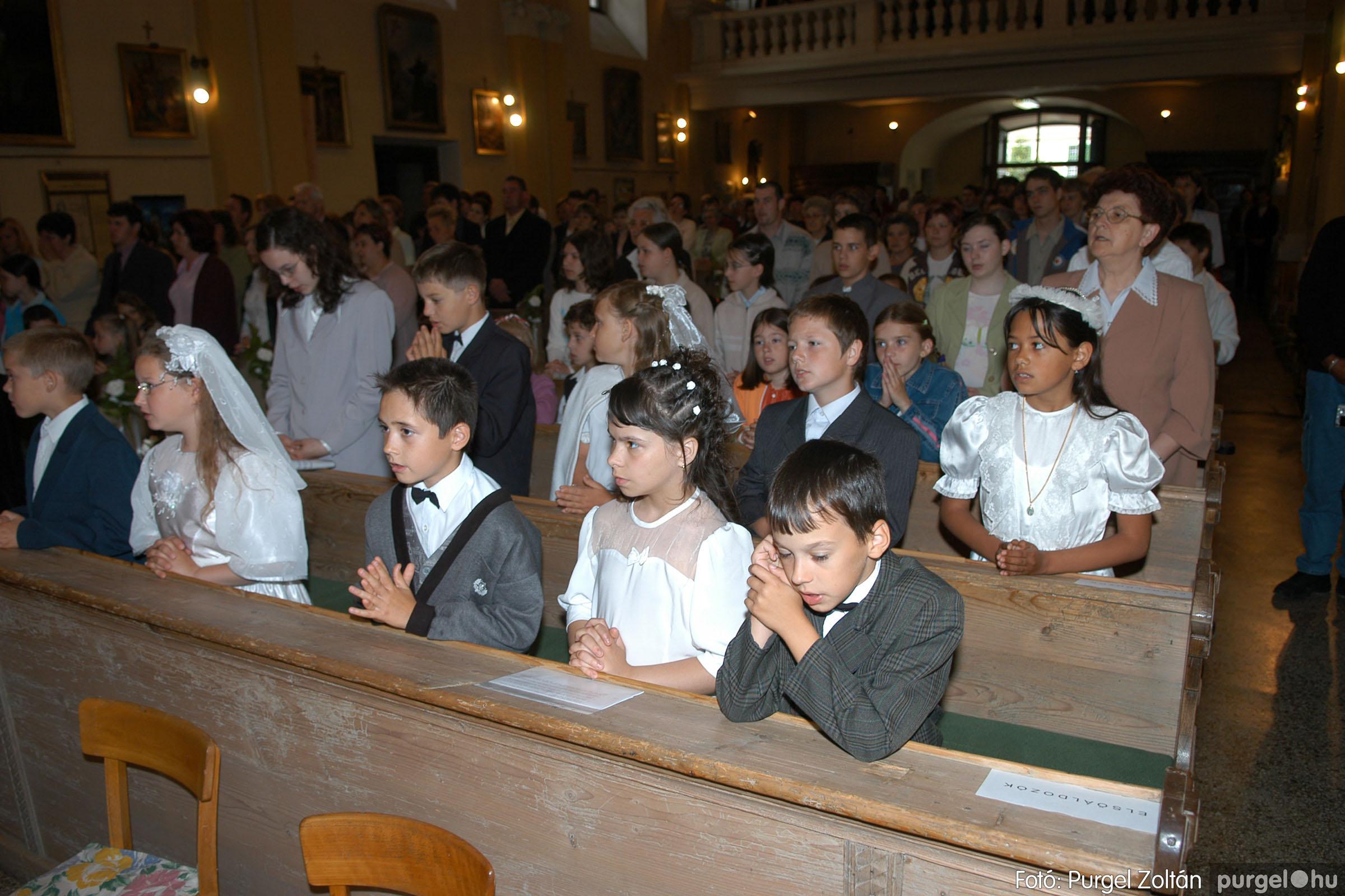 2006.05.21. 020 Kisboldogasszony templom elsőáldozás - Fotó:PURGEL ZOLTÁN© DSC_0250q.jpg