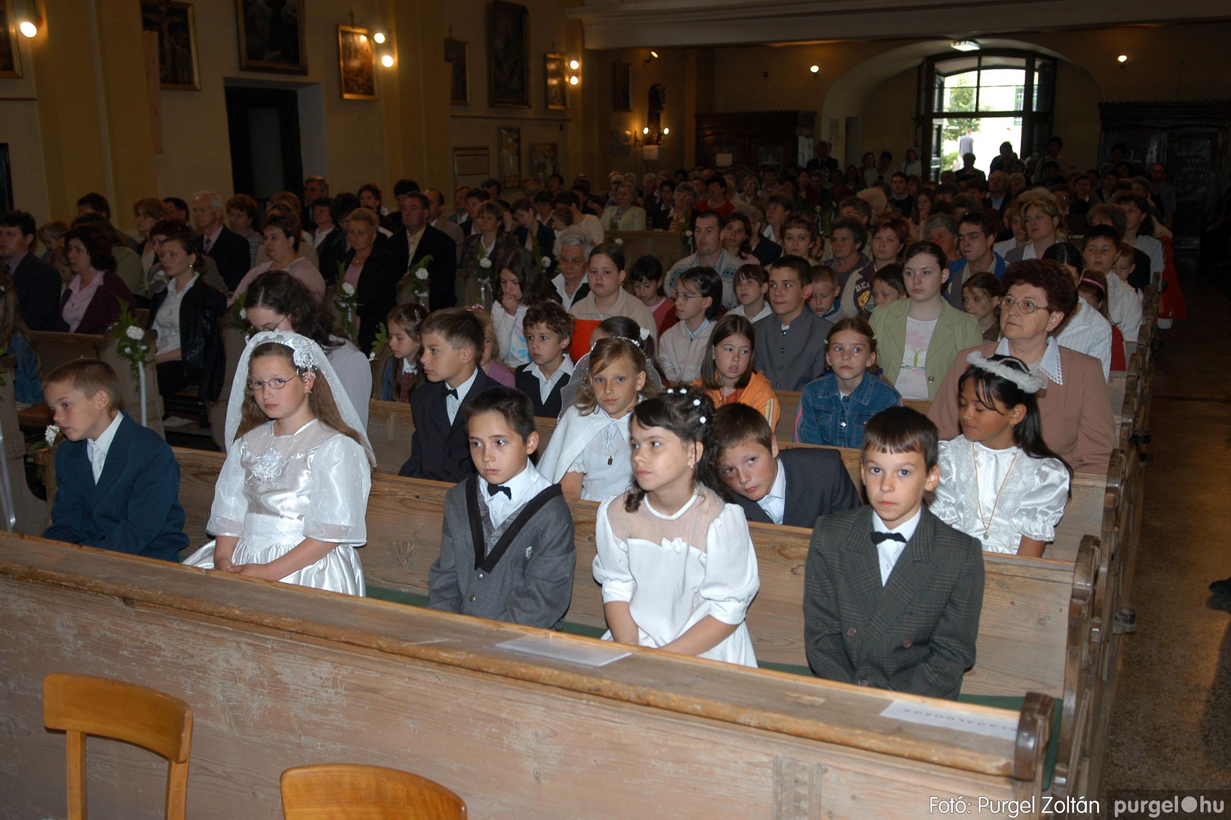2006.05.21. 017 Kisboldogasszony templom elsőáldozás - Fotó:PURGEL ZOLTÁN© DSC_0247q.jpg