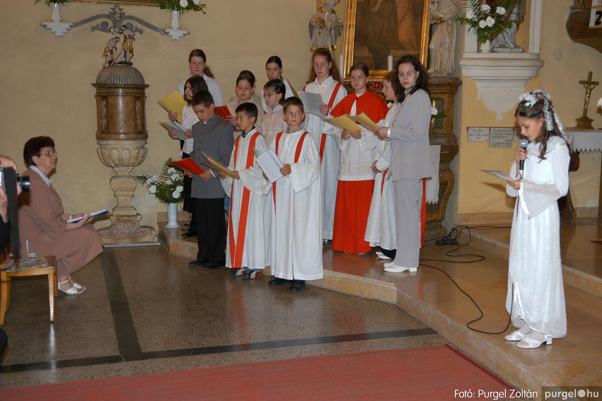 2006.05.21. 016 Kisboldogasszony templom elsőáldozás - Fotó:PURGEL ZOLTÁN© DSC_0244q.jpg