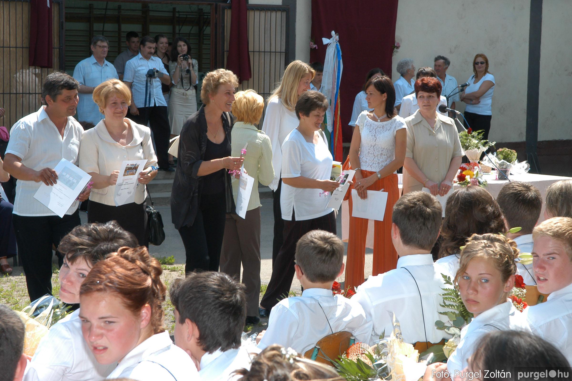 2006.06.17. 124 Forray Máté Általános Iskola ballagás 2006. - Fotó:PURGEL ZOLTÁN© DSC_0163q.jpg