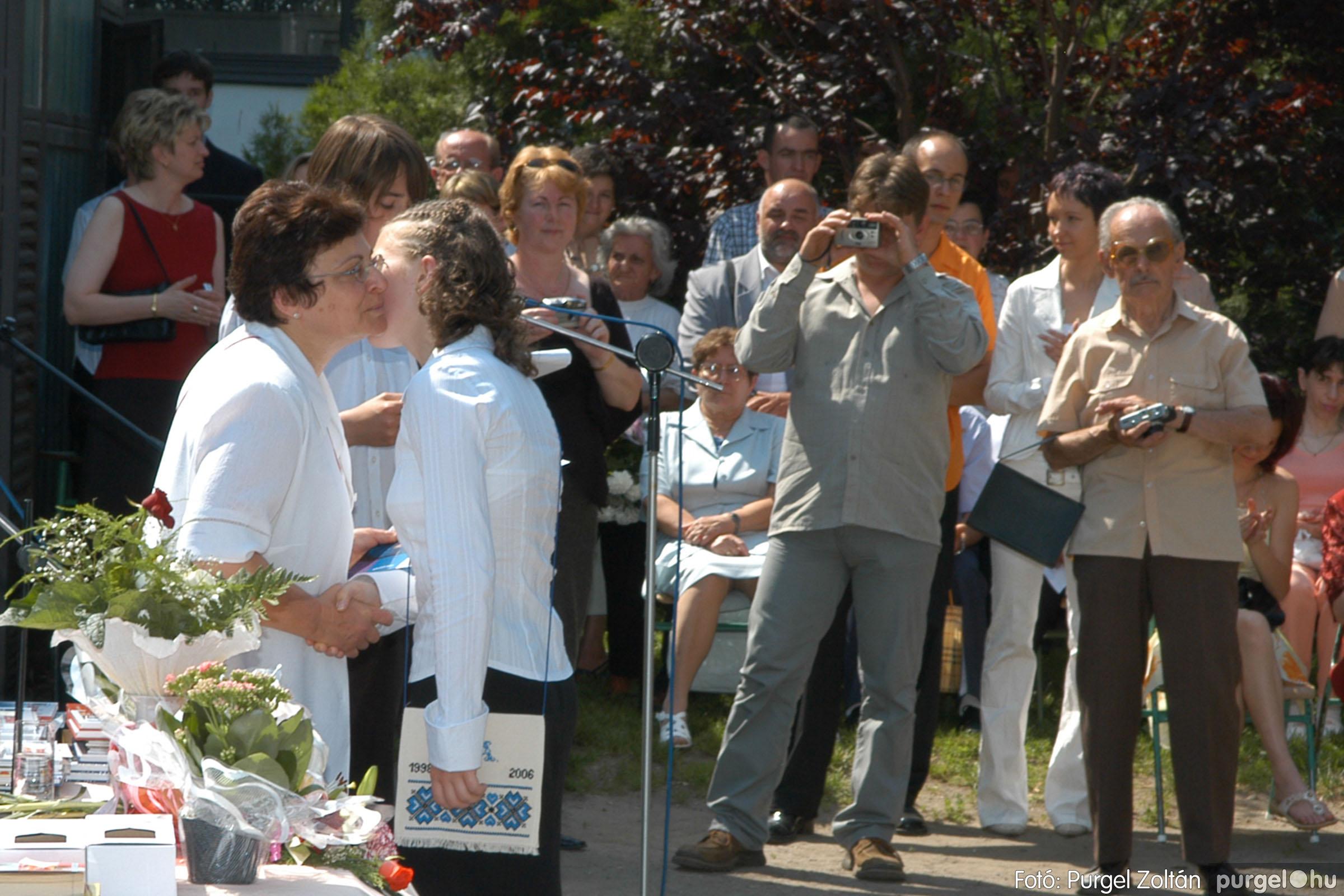 2006.06.17. 096 Forray Máté Általános Iskola ballagás 2006. - Fotó:PURGEL ZOLTÁN© DSC_0125q.jpg