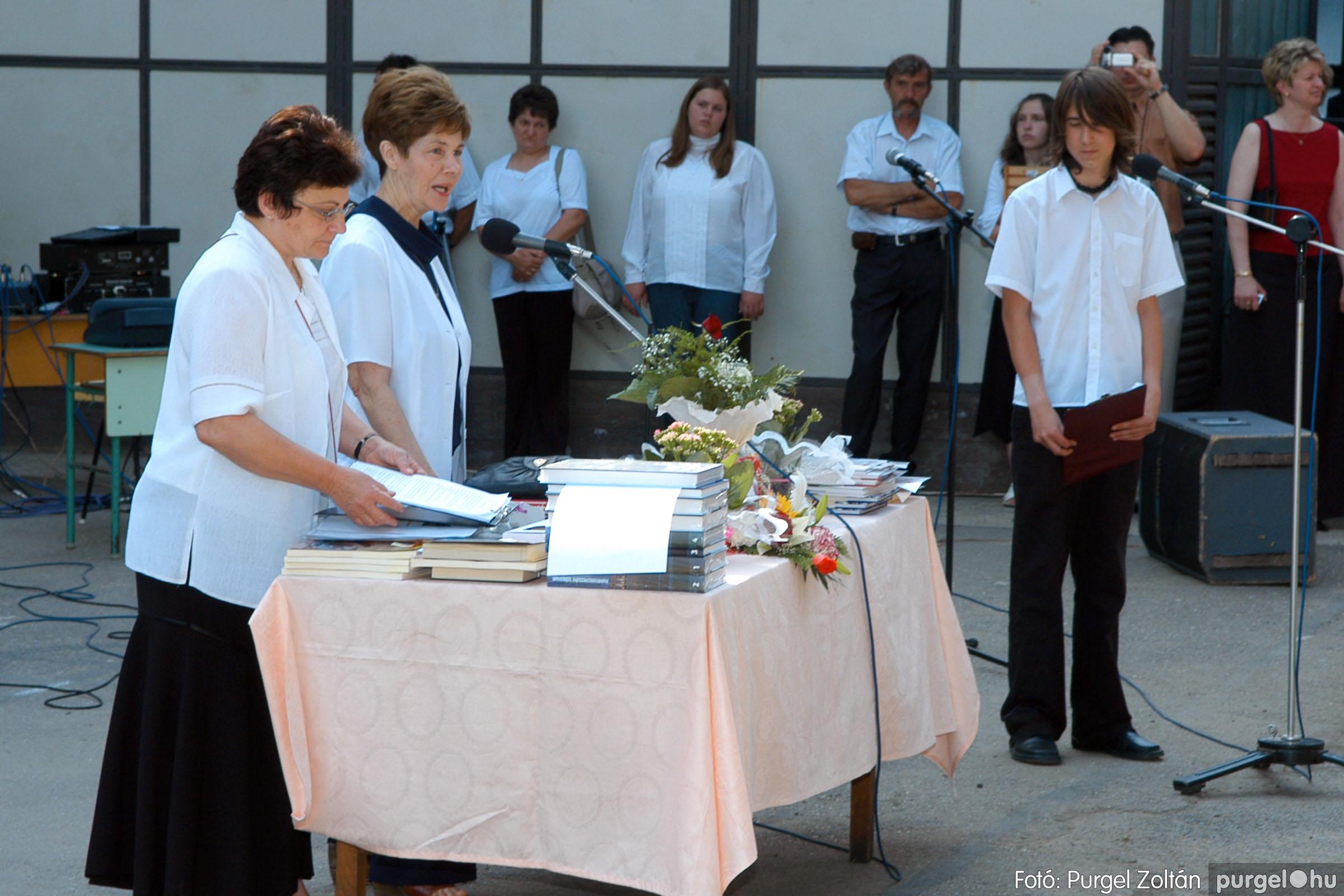 2006.06.17. 086 Forray Máté Általános Iskola ballagás 2006. - Fotó:PURGEL ZOLTÁN© DSC_0110q.jpg