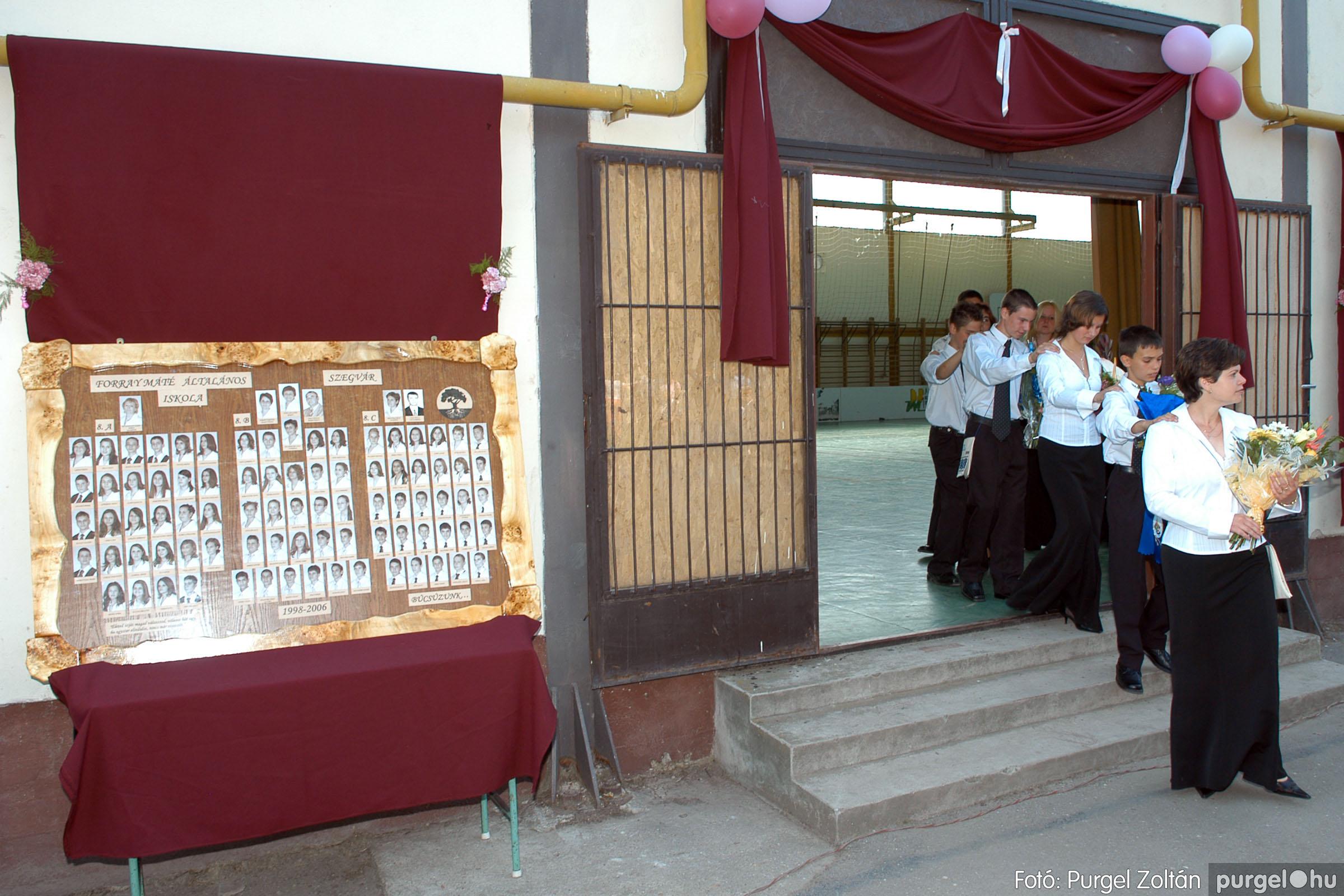 2006.06.17. 024 Forray Máté Általános Iskola ballagás 2006. - Fotó:PURGEL ZOLTÁN© DSC_0035q.jpg
