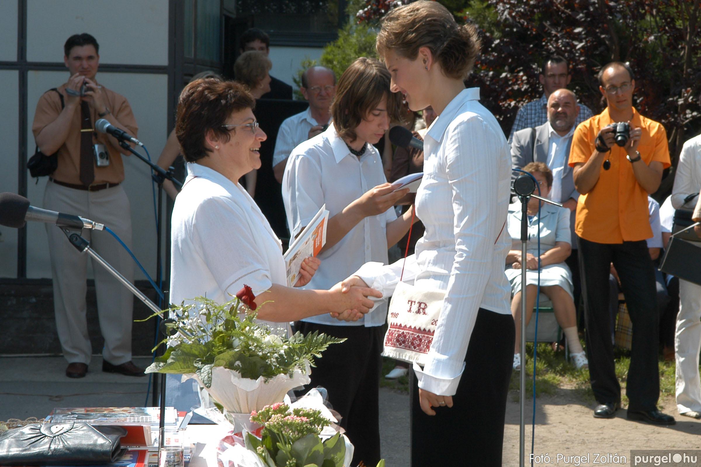 2006.06.17. 110 Forray Máté Általános Iskola ballagás 2006. - Fotó:PURGEL ZOLTÁN© DSC_0142q.jpg