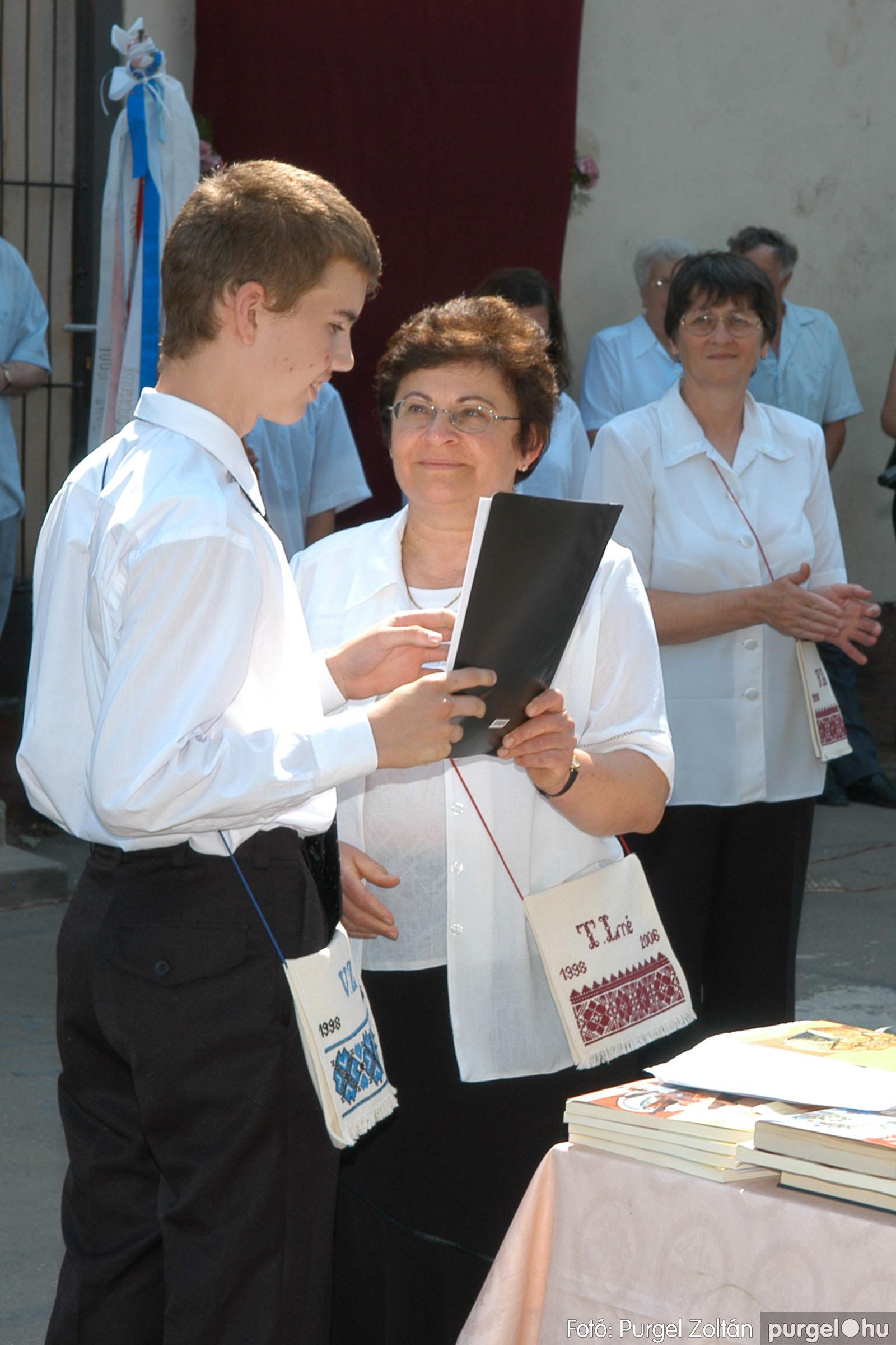2006.06.17. 092 Forray Máté Általános Iskola ballagás 2006. - Fotó:PURGEL ZOLTÁN© DSC_0120q.jpg