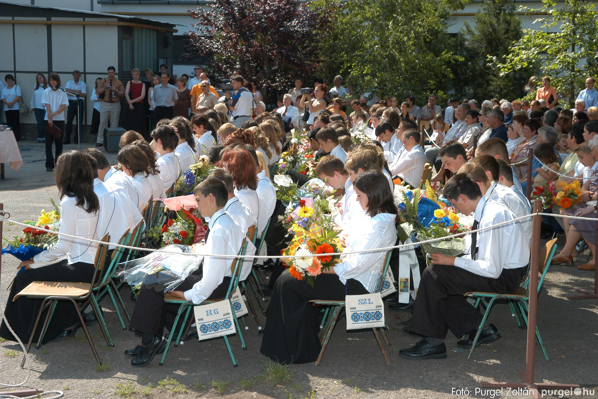 2006.06.17. 088 Forray Máté Általános Iskola ballagás 2006. - Fotó:PURGEL ZOLTÁN© DSC_0112q.jpg