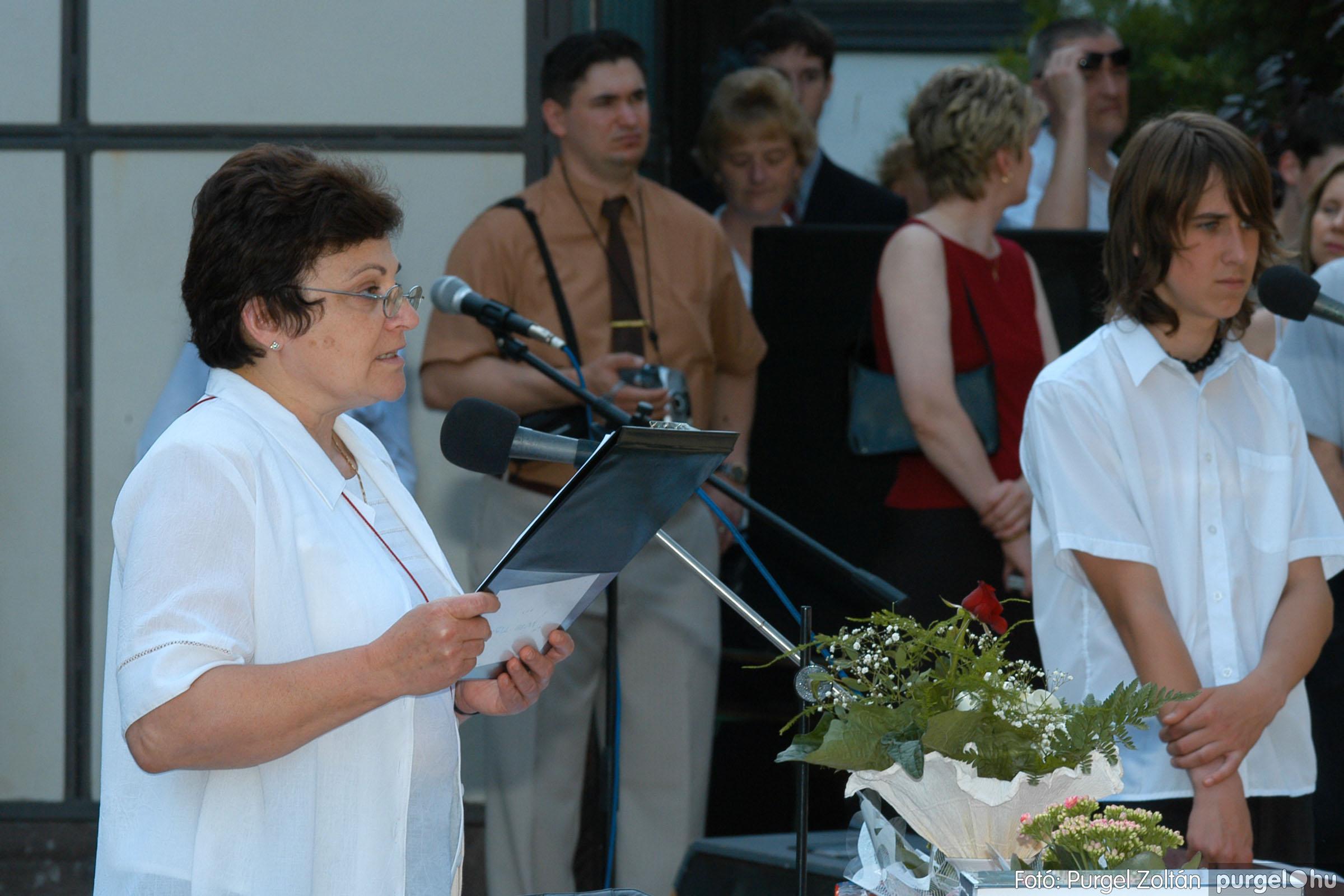 2006.06.17. 080 Forray Máté Általános Iskola ballagás 2006. - Fotó:PURGEL ZOLTÁN© DSC_0103q.jpg