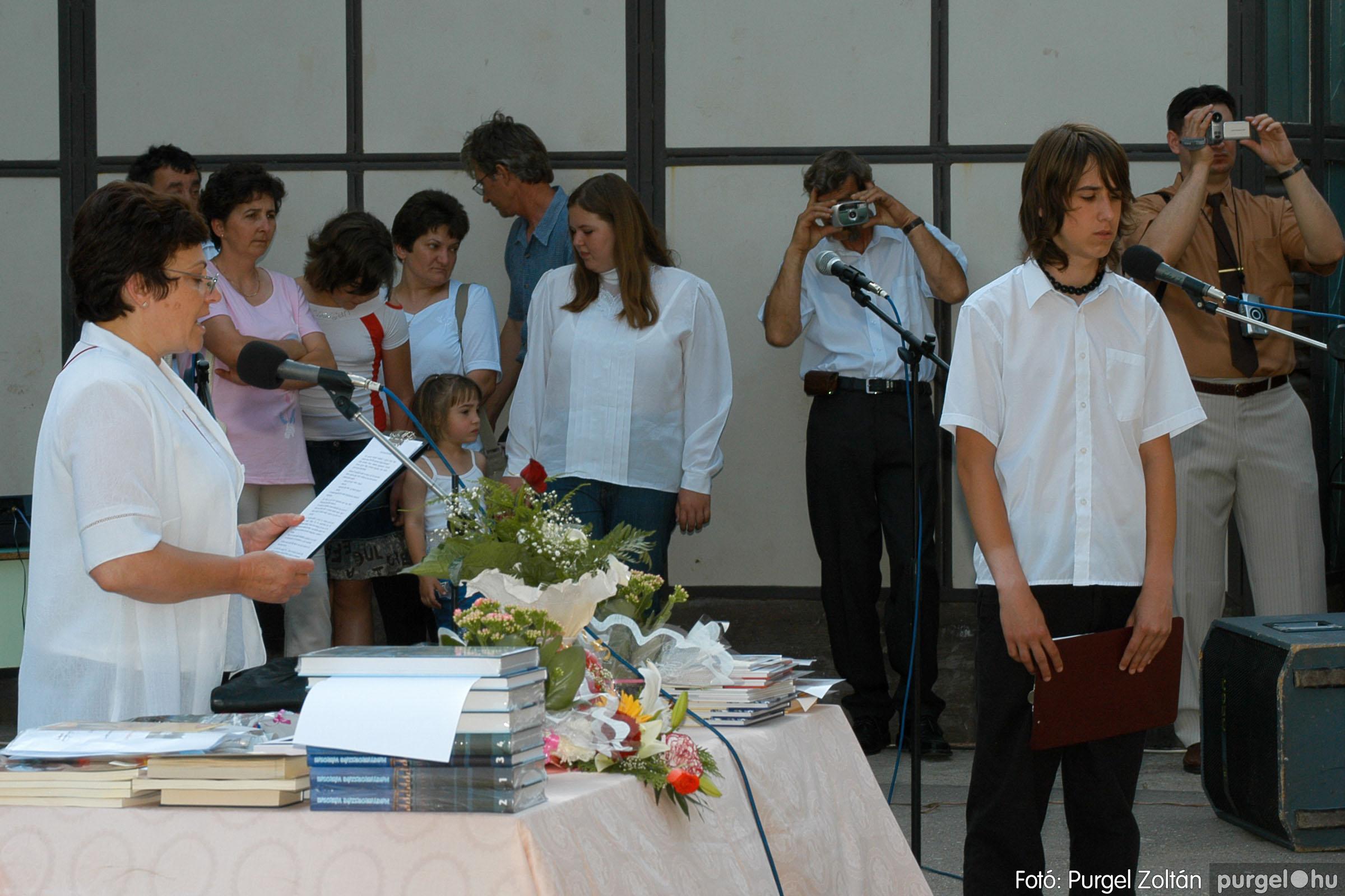 2006.06.17. 077 Forray Máté Általános Iskola ballagás 2006. - Fotó:PURGEL ZOLTÁN© DSC_0098q.jpg