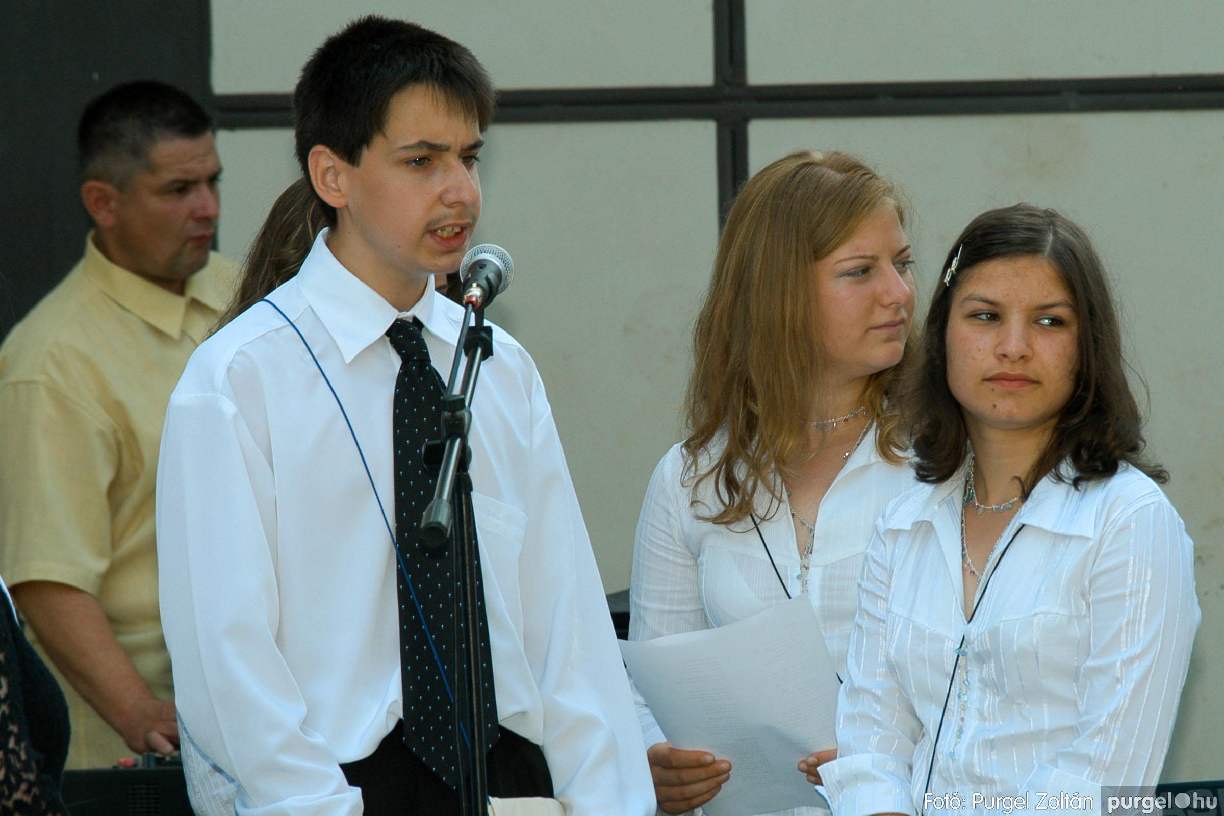 2006.06.17. 074 Forray Máté Általános Iskola ballagás 2006. - Fotó:PURGEL ZOLTÁN© DSC_0095q.jpg
