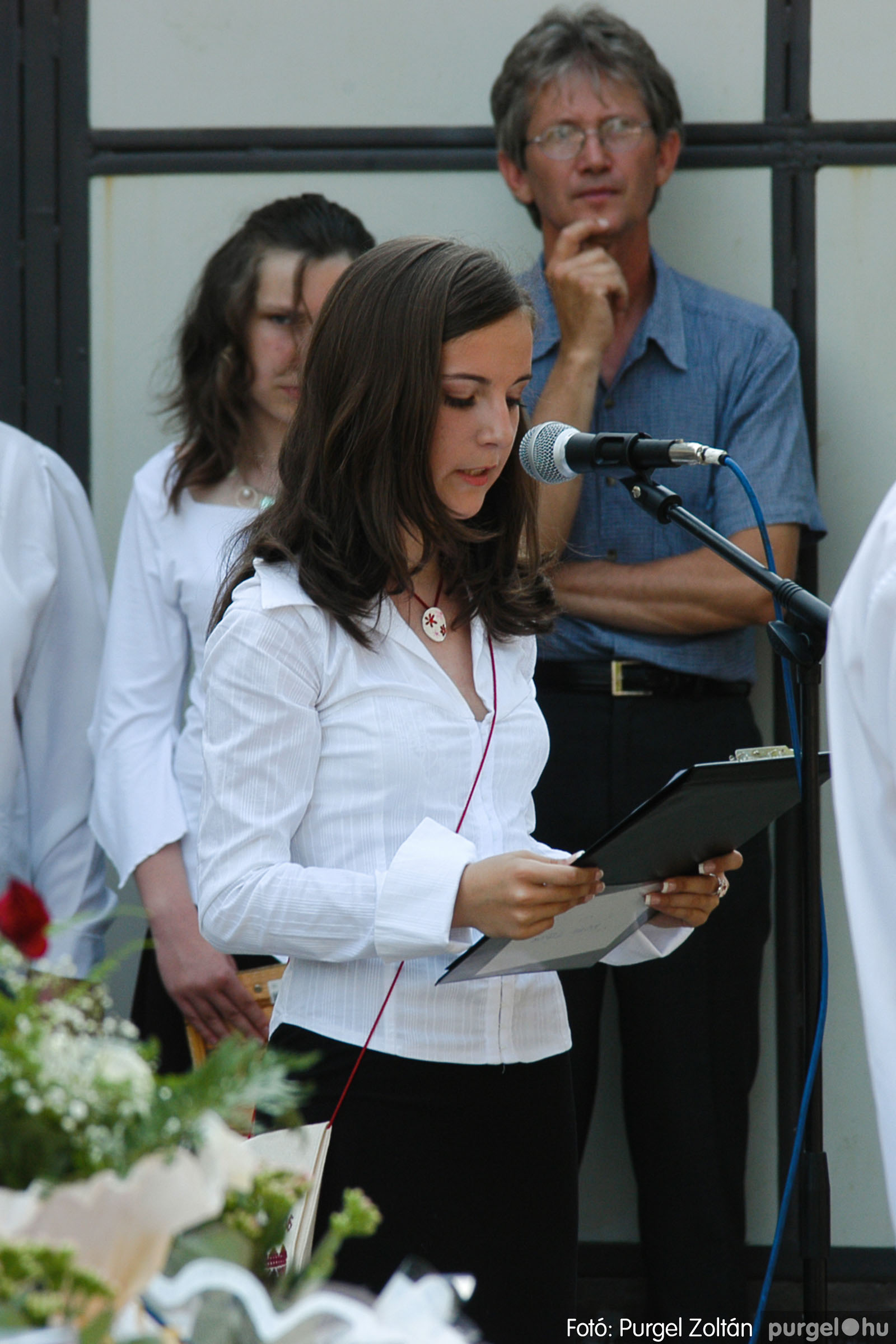 2006.06.17. 065 Forray Máté Általános Iskola ballagás 2006. - Fotó:PURGEL ZOLTÁN© DSC_0086q.jpg