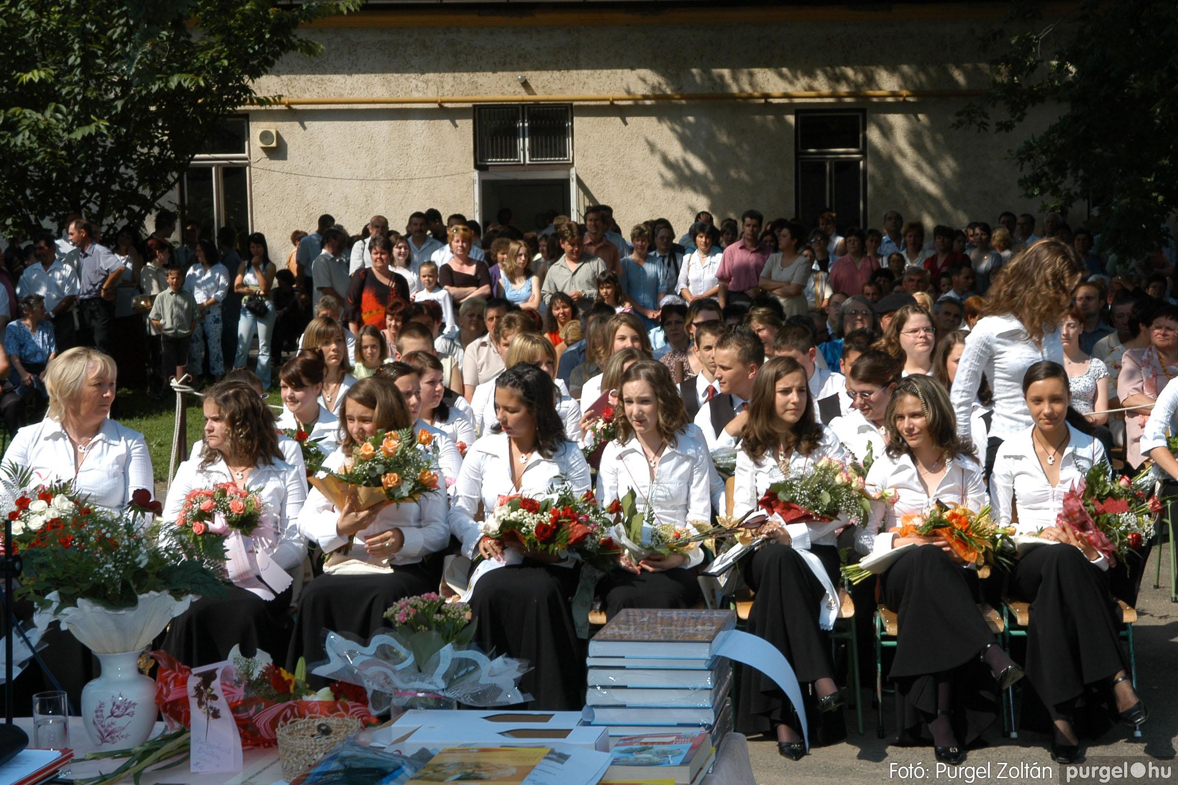 2006.06.17. 057 Forray Máté Általános Iskola ballagás 2006. - Fotó:PURGEL ZOLTÁN© DSC_0078q.jpg