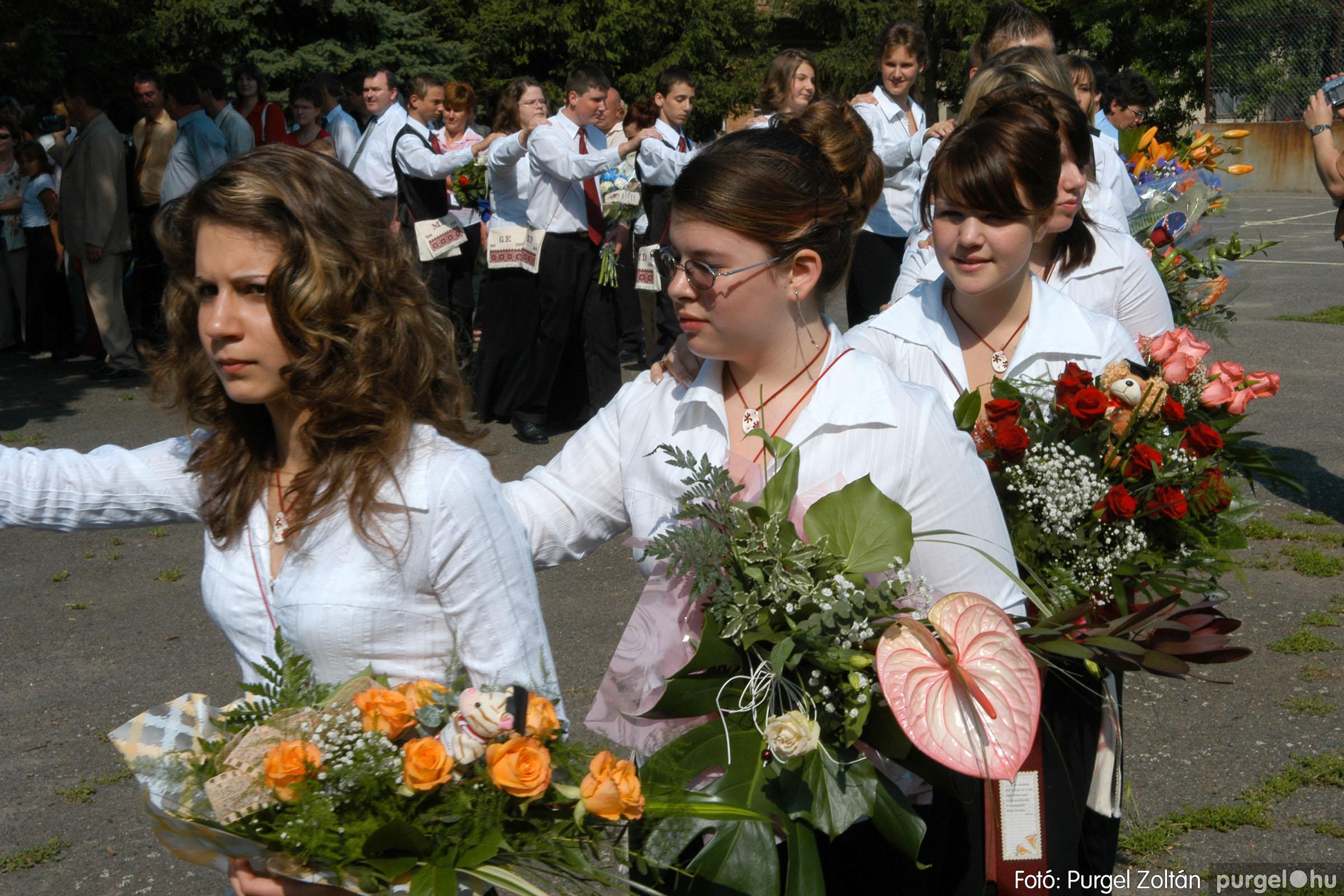 2006.06.17. 036 Forray Máté Általános Iskola ballagás 2006. - Fotó:PURGEL ZOLTÁN© DSC_0054q.jpg