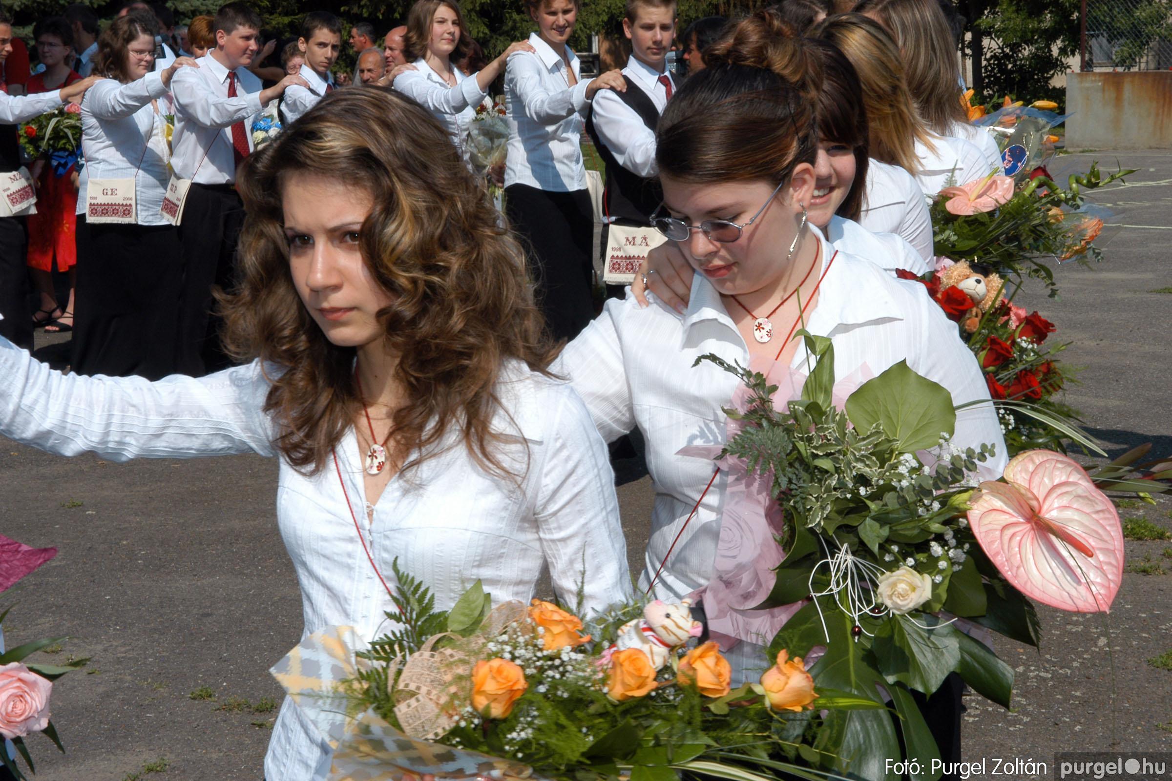 2006.06.17. 035 Forray Máté Általános Iskola ballagás 2006. - Fotó:PURGEL ZOLTÁN© DSC_0053q.jpg