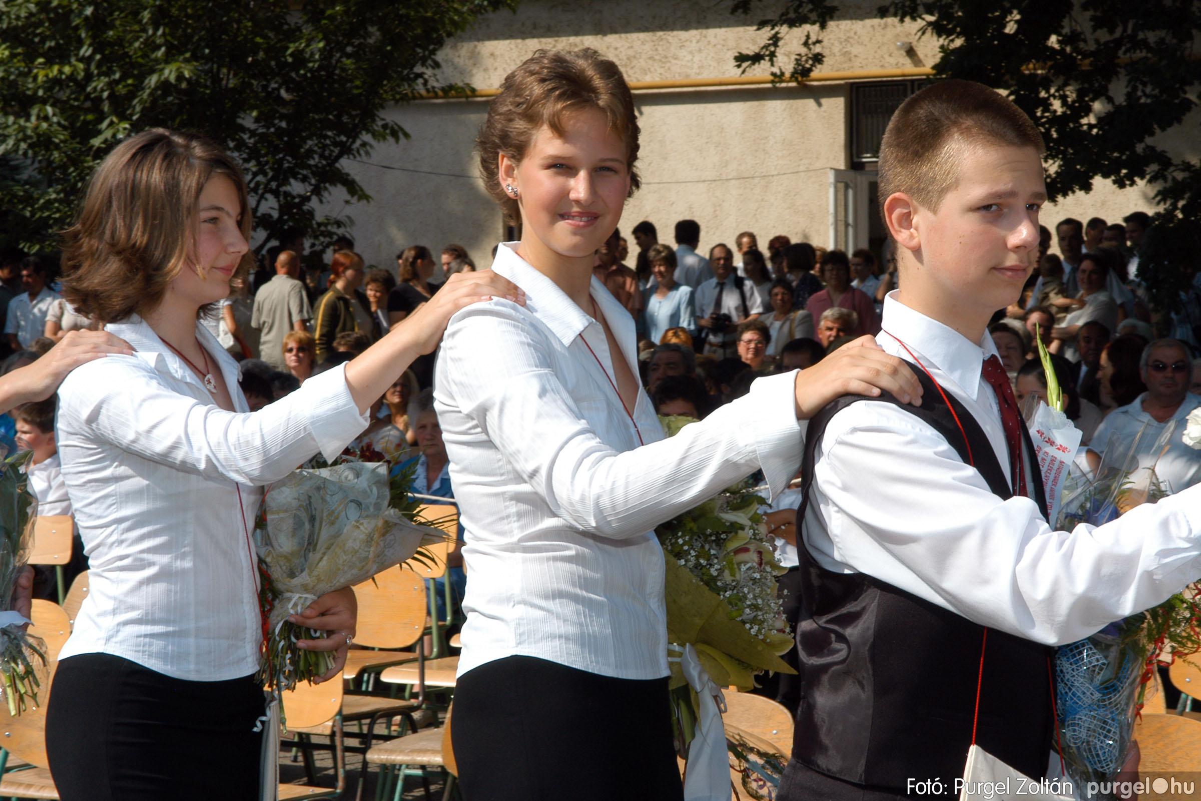 2006.06.17. 031 Forray Máté Általános Iskola ballagás 2006. - Fotó:PURGEL ZOLTÁN© DSC_0048q.jpg