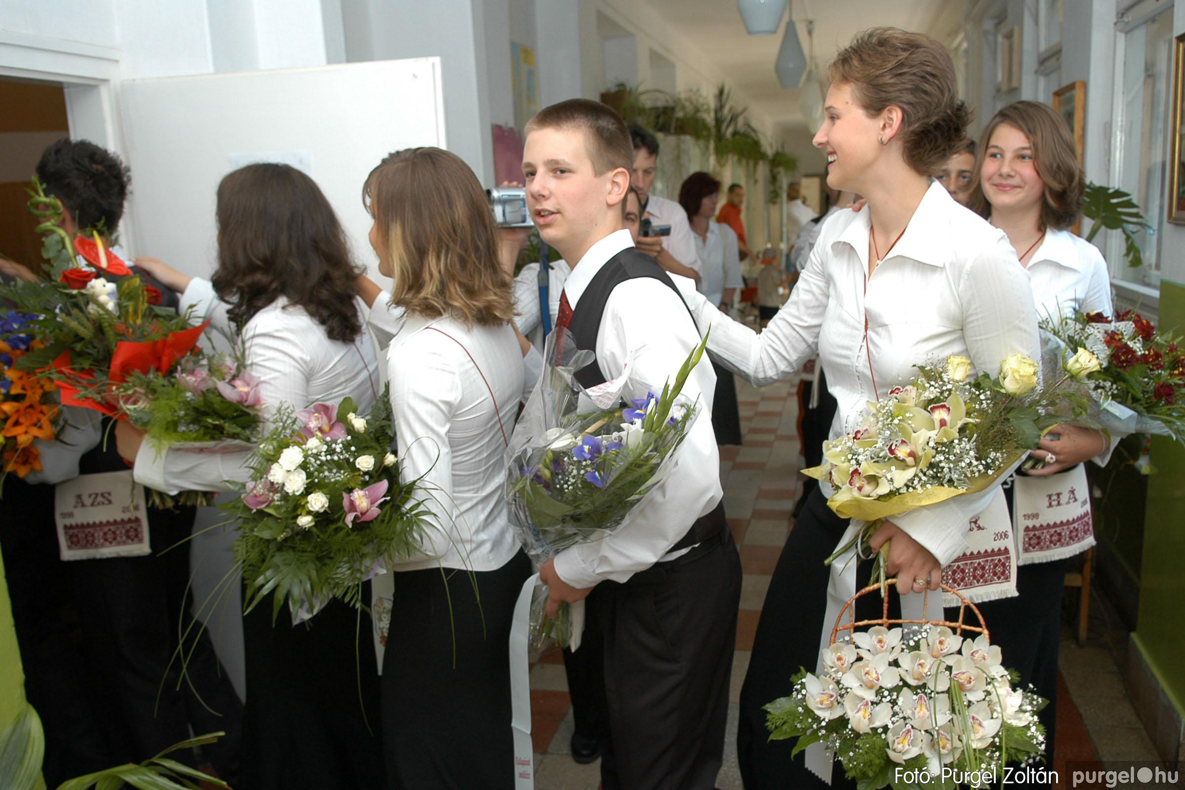 2006.06.17. 015 Forray Máté Általános Iskola ballagás 2006. - Fotó:PURGEL ZOLTÁN© DSC_0020q.jpg